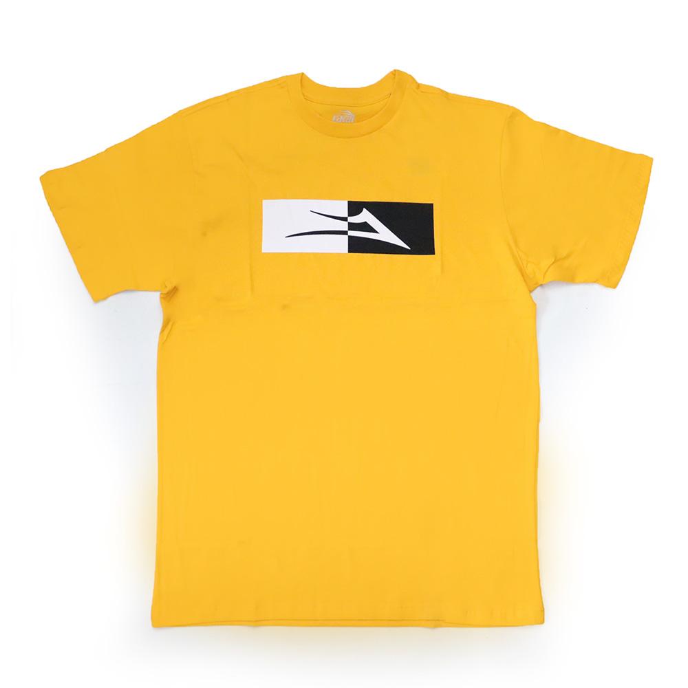 Camiseta Lakai Split - Amarelo