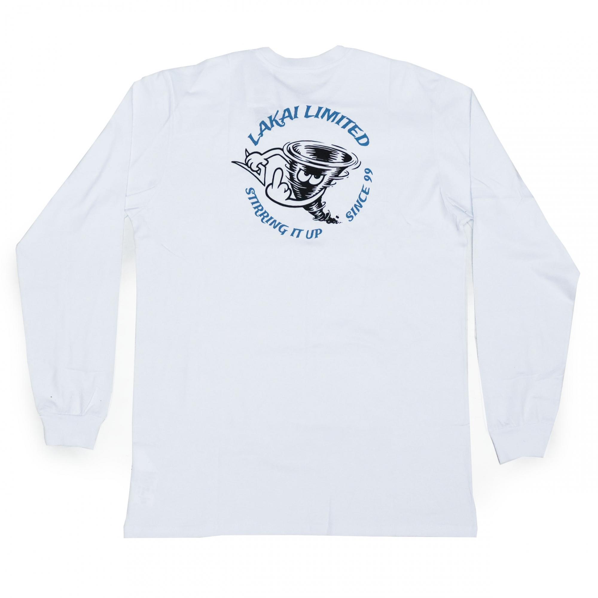 Camiseta Lakai Tornado - Branco