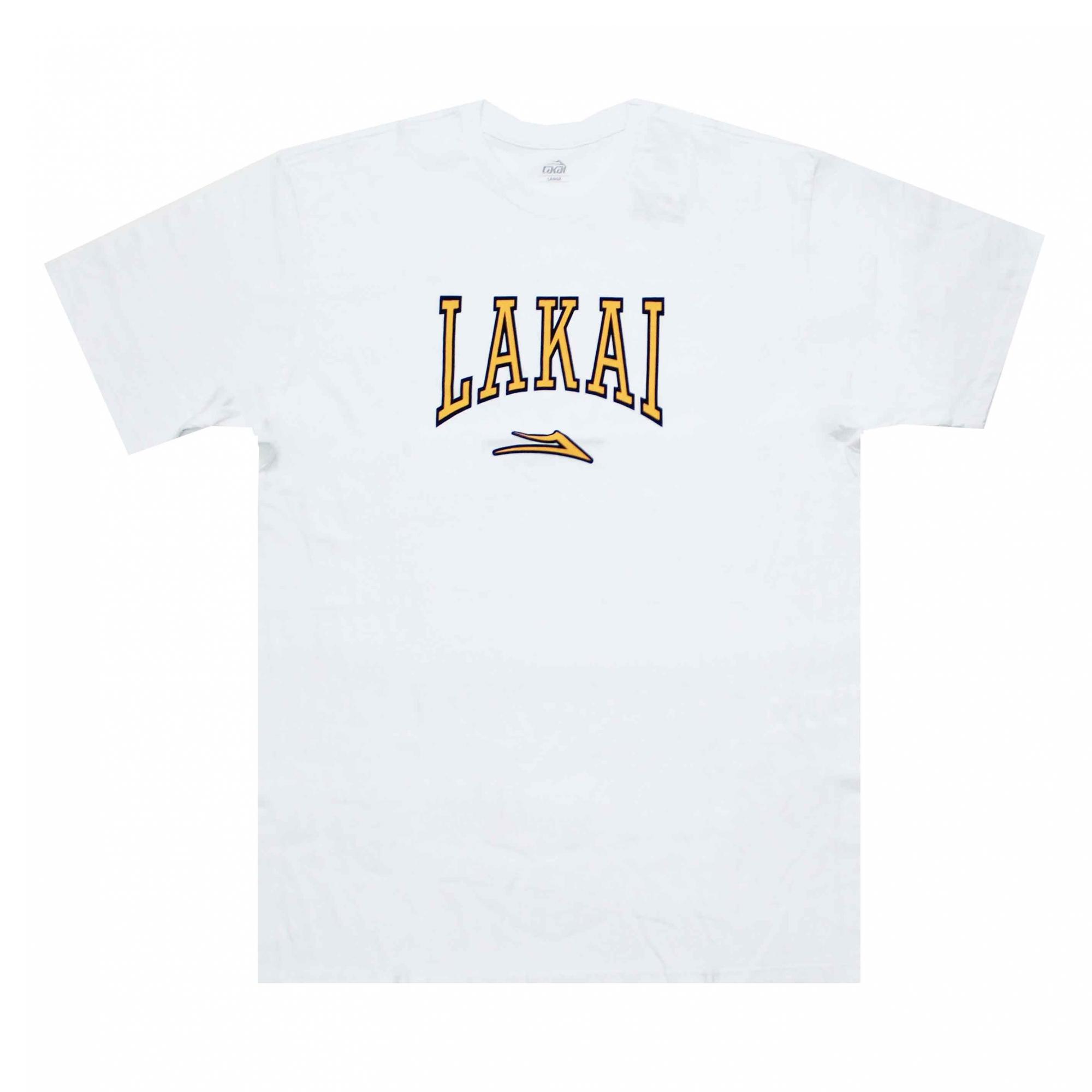 Camiseta Lakai Varsity - Branco