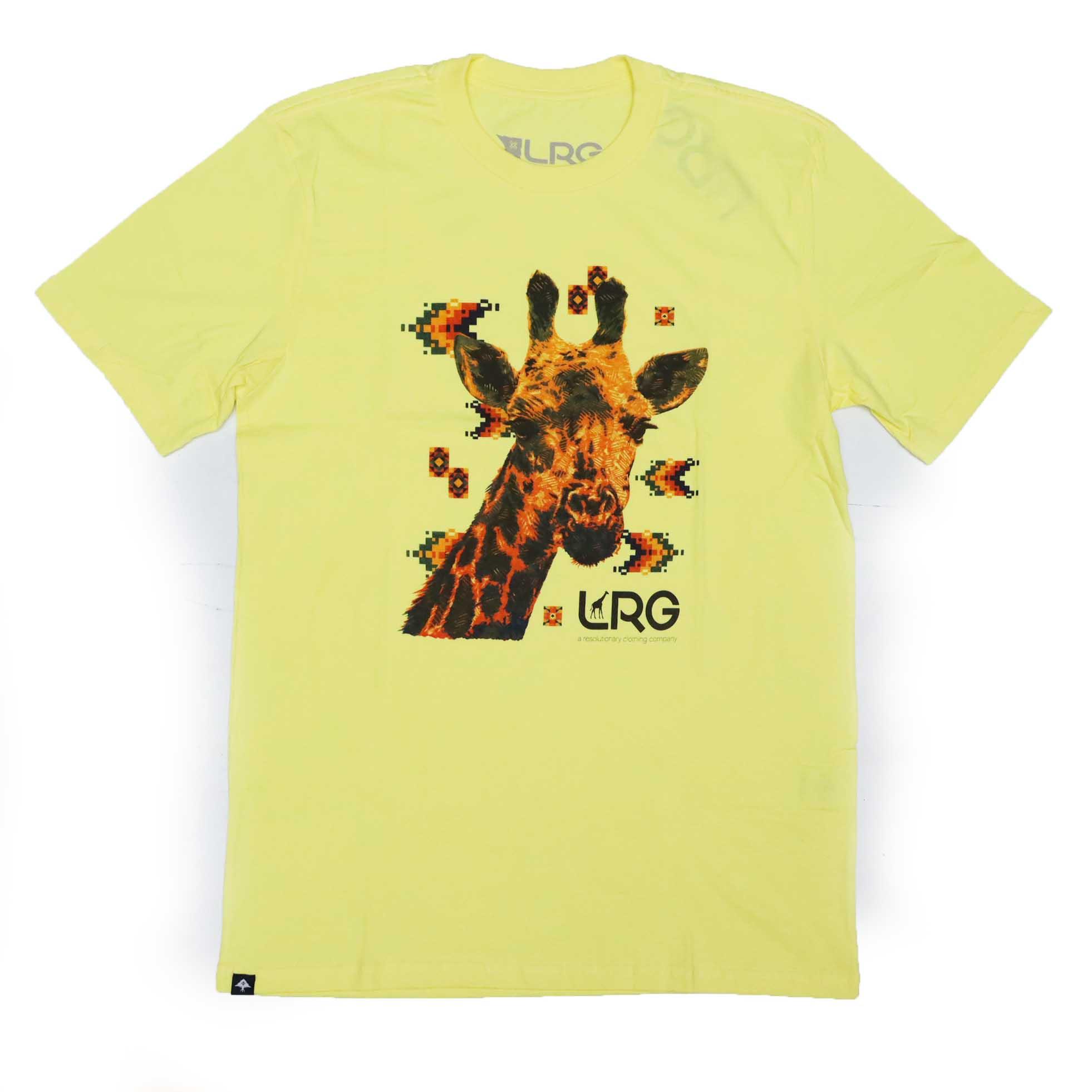 Camiseta LRG Above - Amarelo