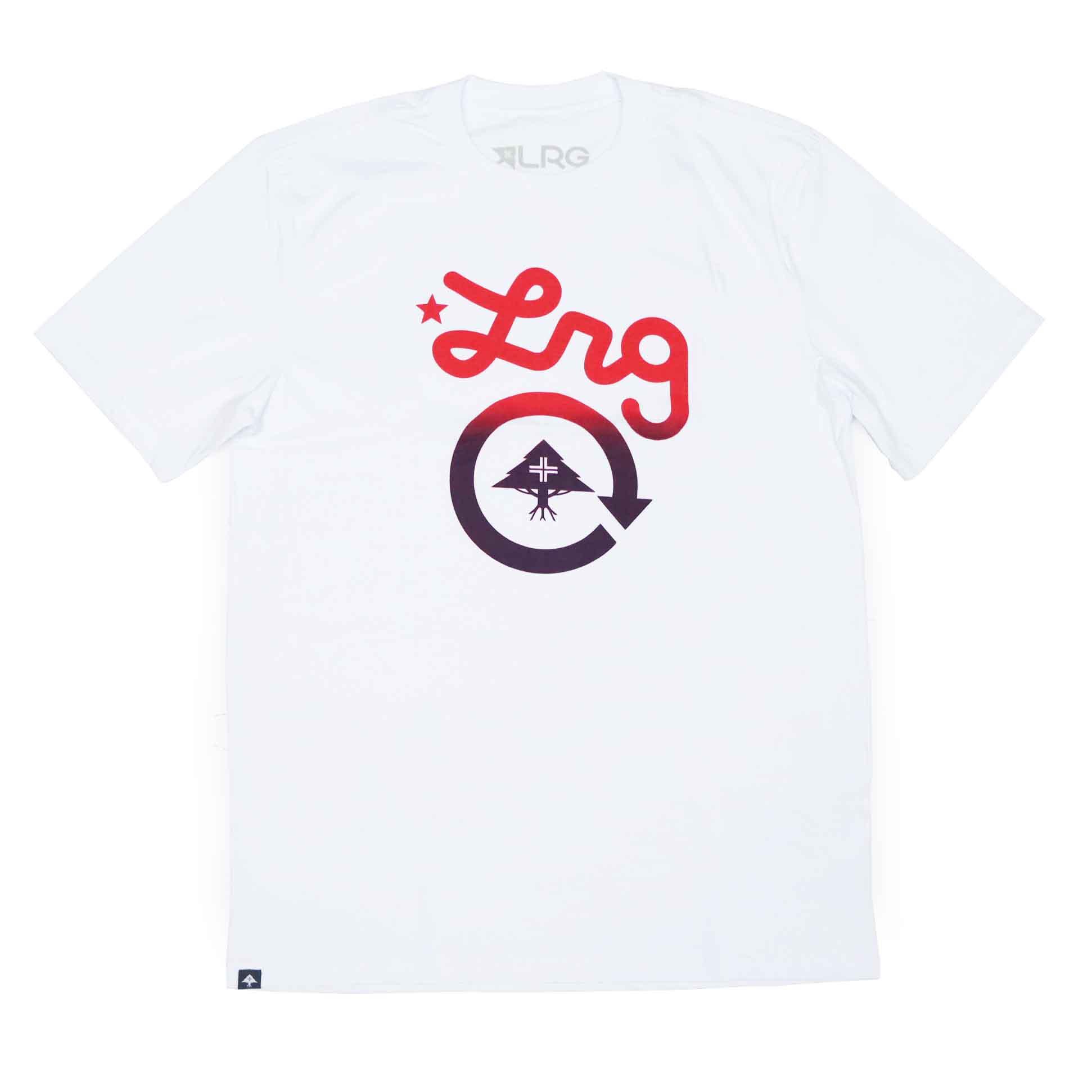 Camiseta LRG Cycle Logo - Branco
