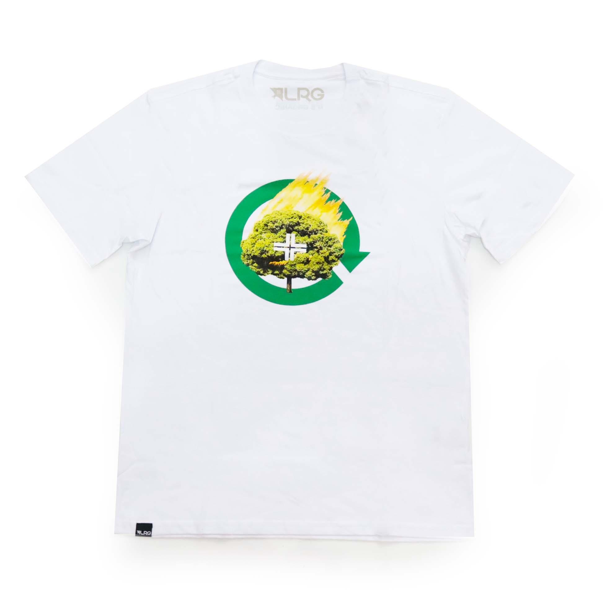 Camiseta LRG Don't Panic - Branco