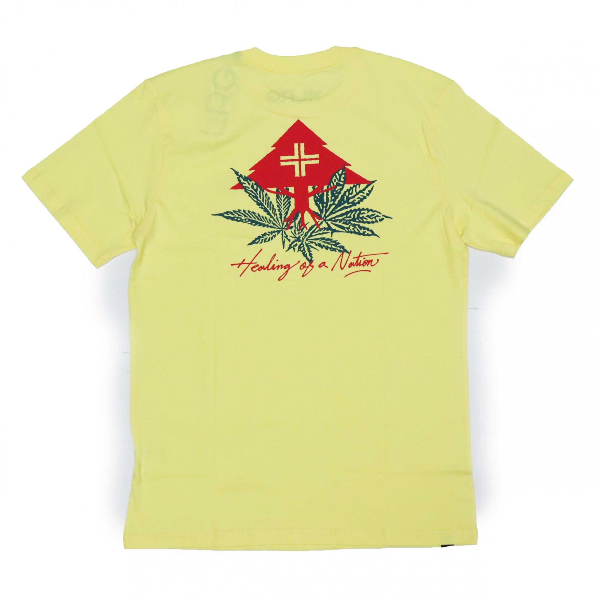 Camiseta LRG Healing - Amarelo Claro