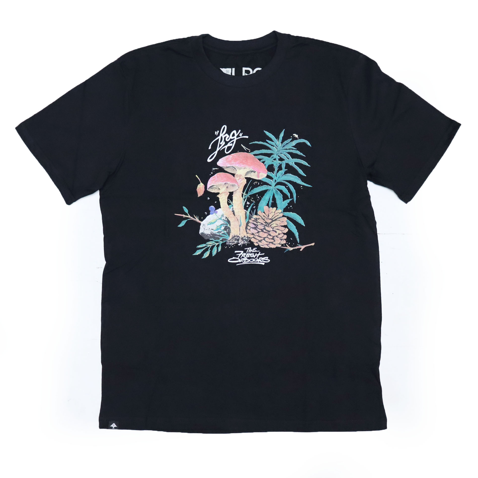 Camiseta LRG High On Pine - Preto