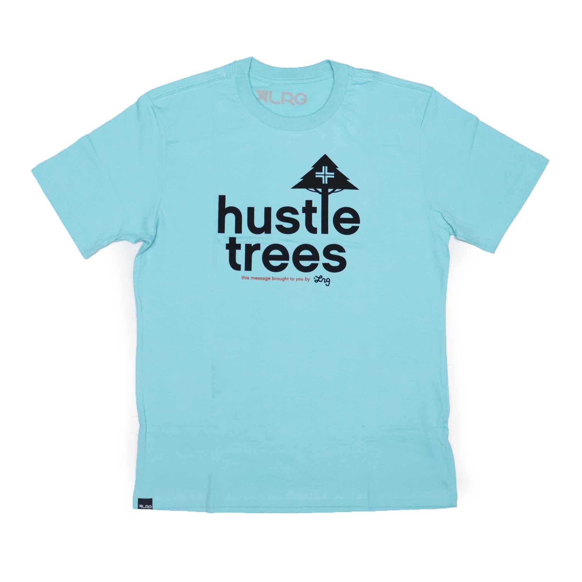 Camiseta LRG Hustle Trees - Azul Claro