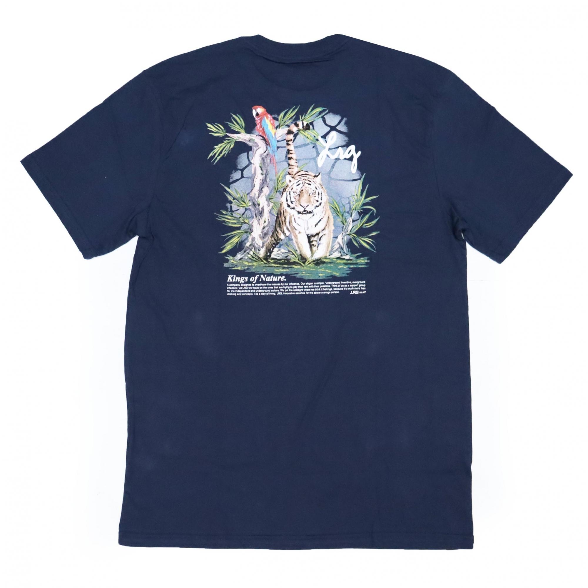 Camiseta LRG Kings - Azul Marinho