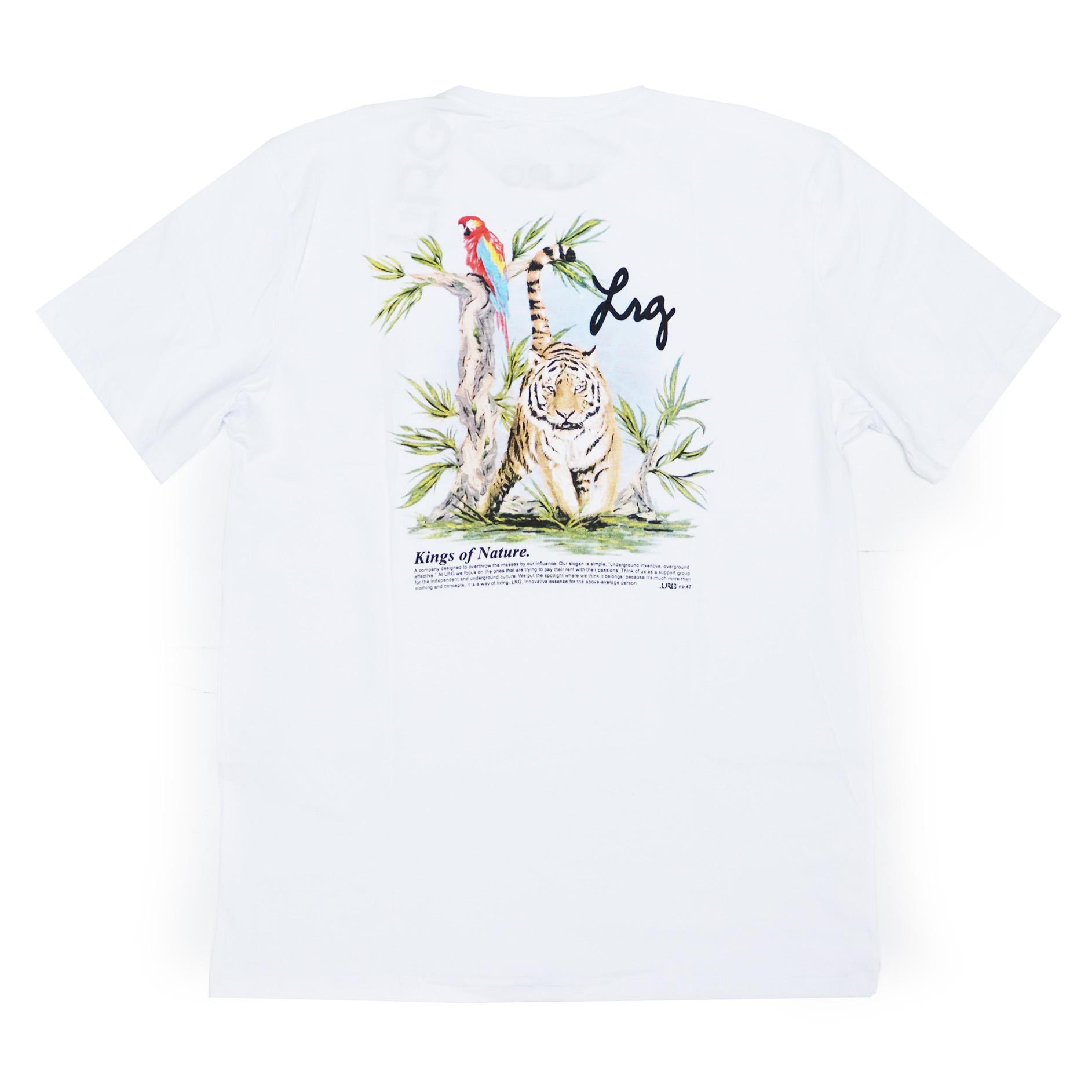 Camiseta LRG Kings - Branco