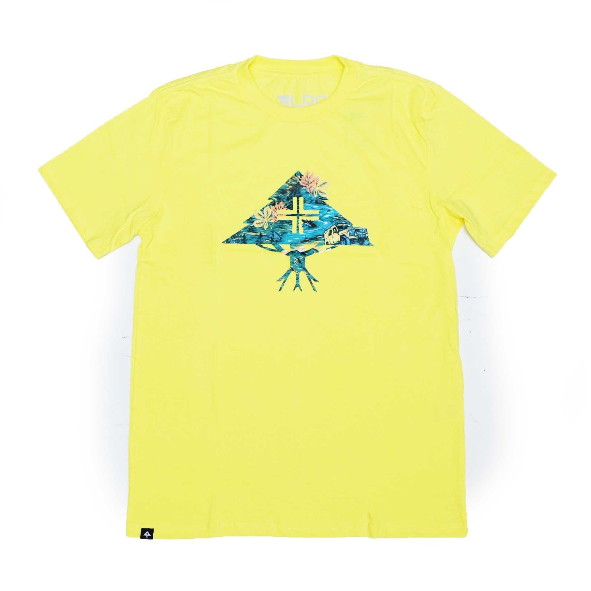 Camiseta LRG Research - Amarelo Claro