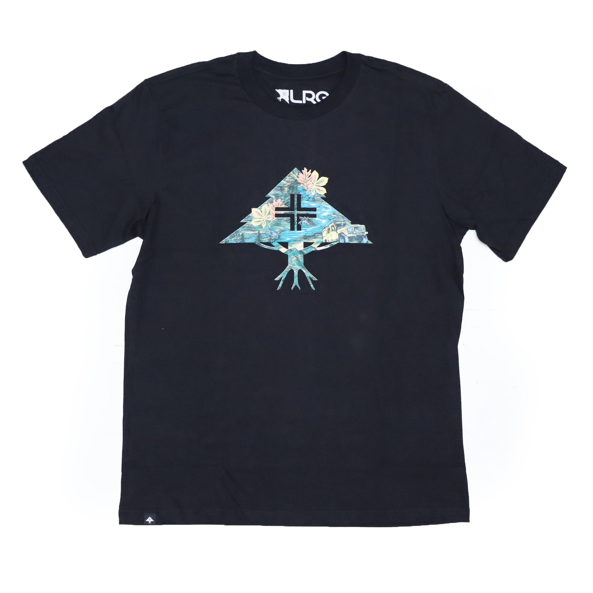 Camiseta LRG Research - Preto