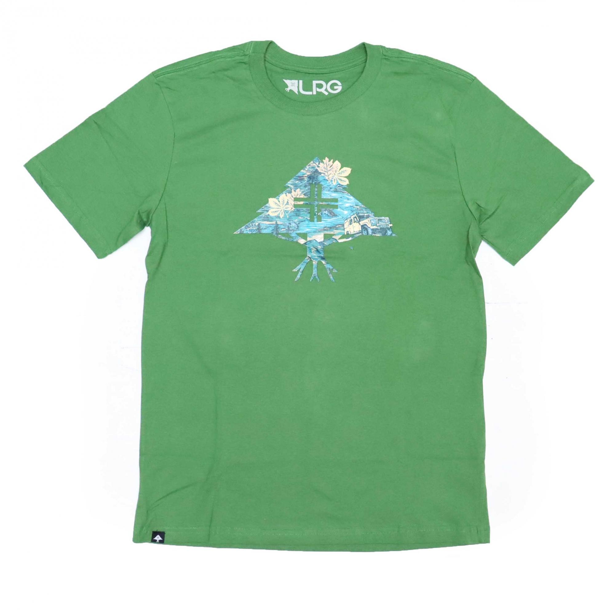Camiseta LRG Research - Verde Militar