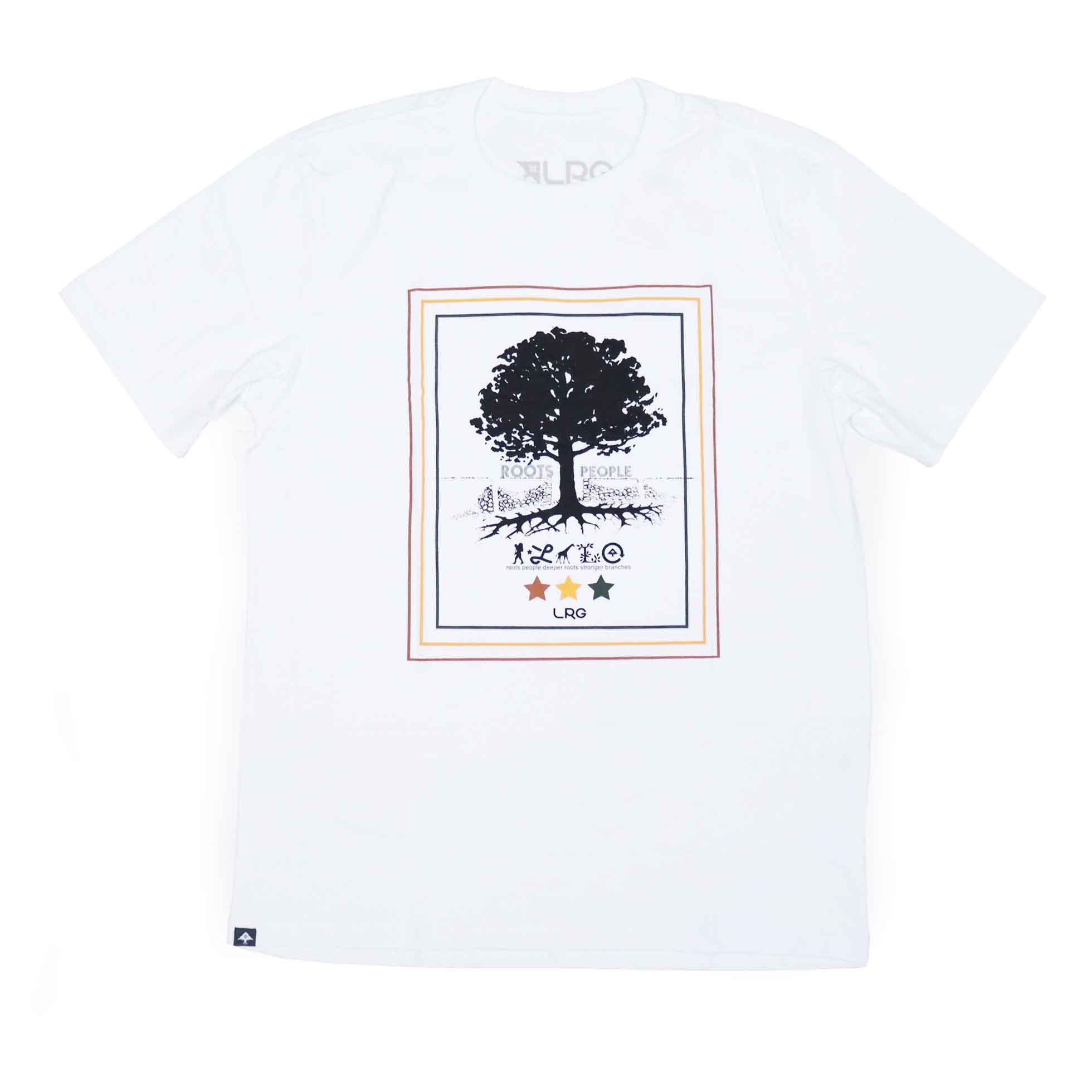 Camiseta LRG Roots People - Branco