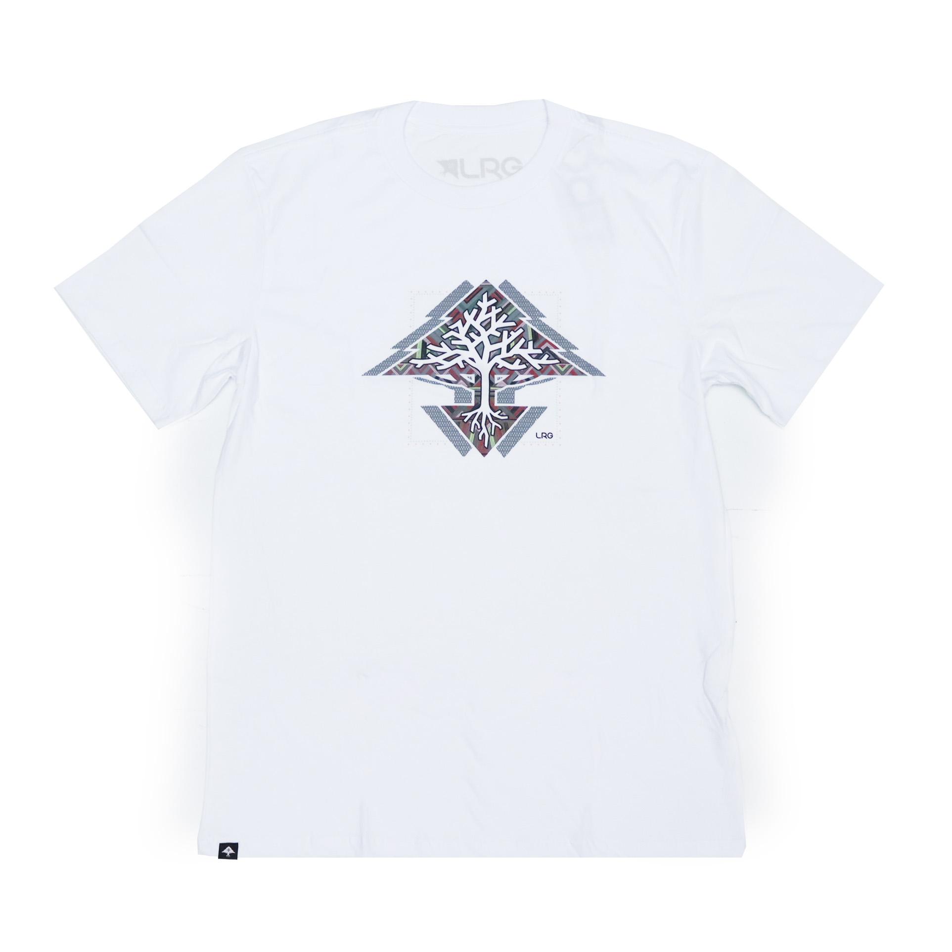 Camiseta LRG Roots Tree - Branco
