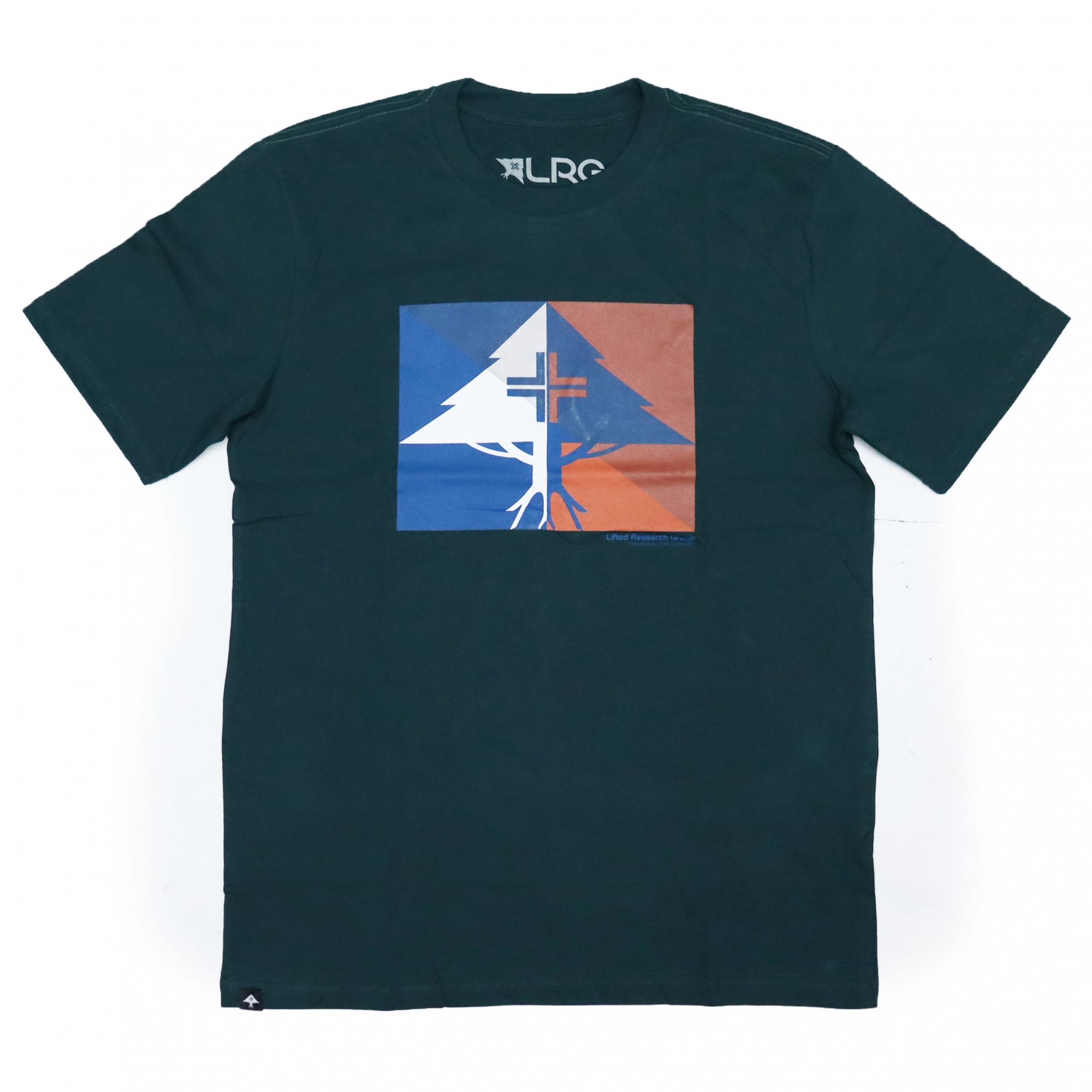 Camiseta LRG Shaded - Verde Militar