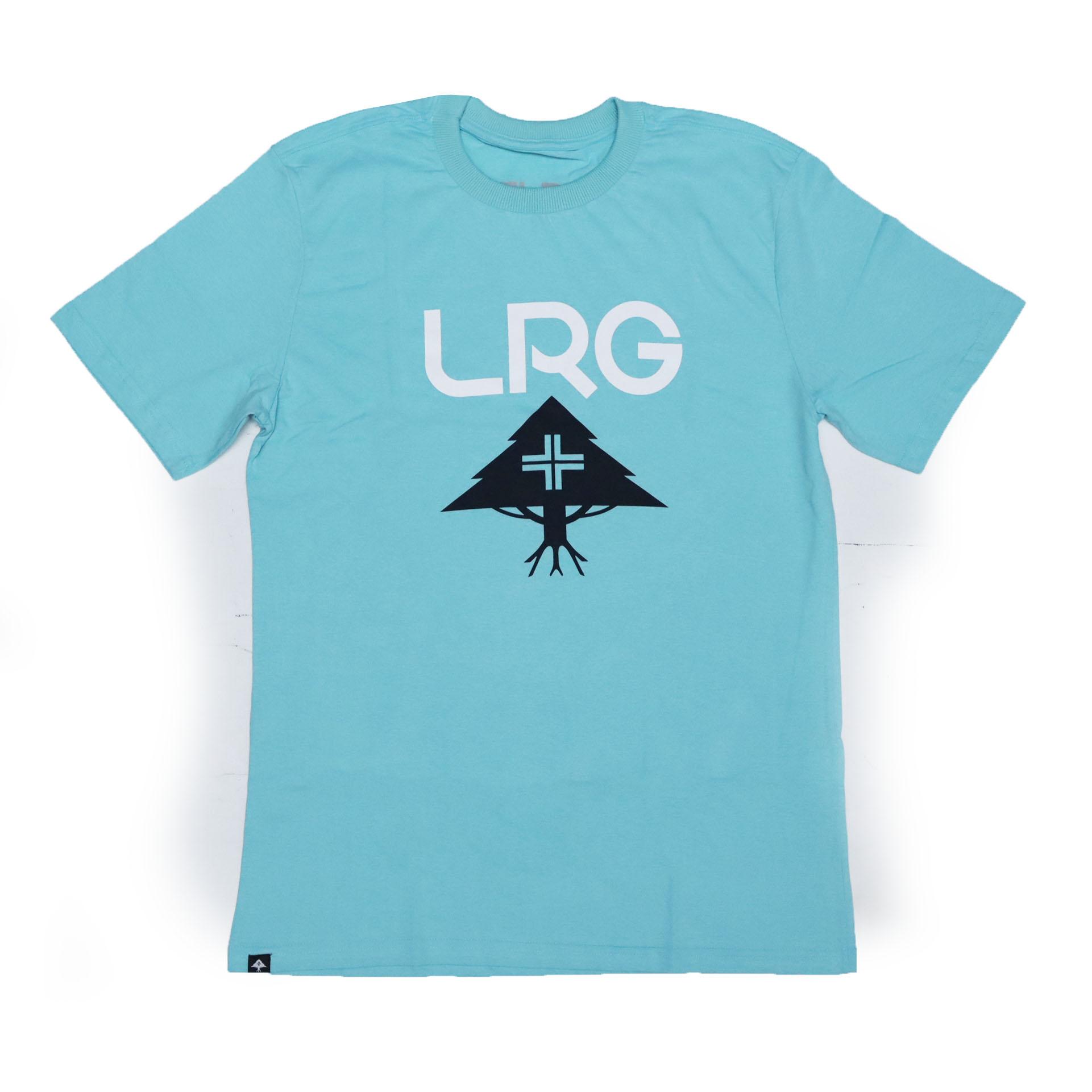 Camiseta LRG Stack Logo - Verde Claro