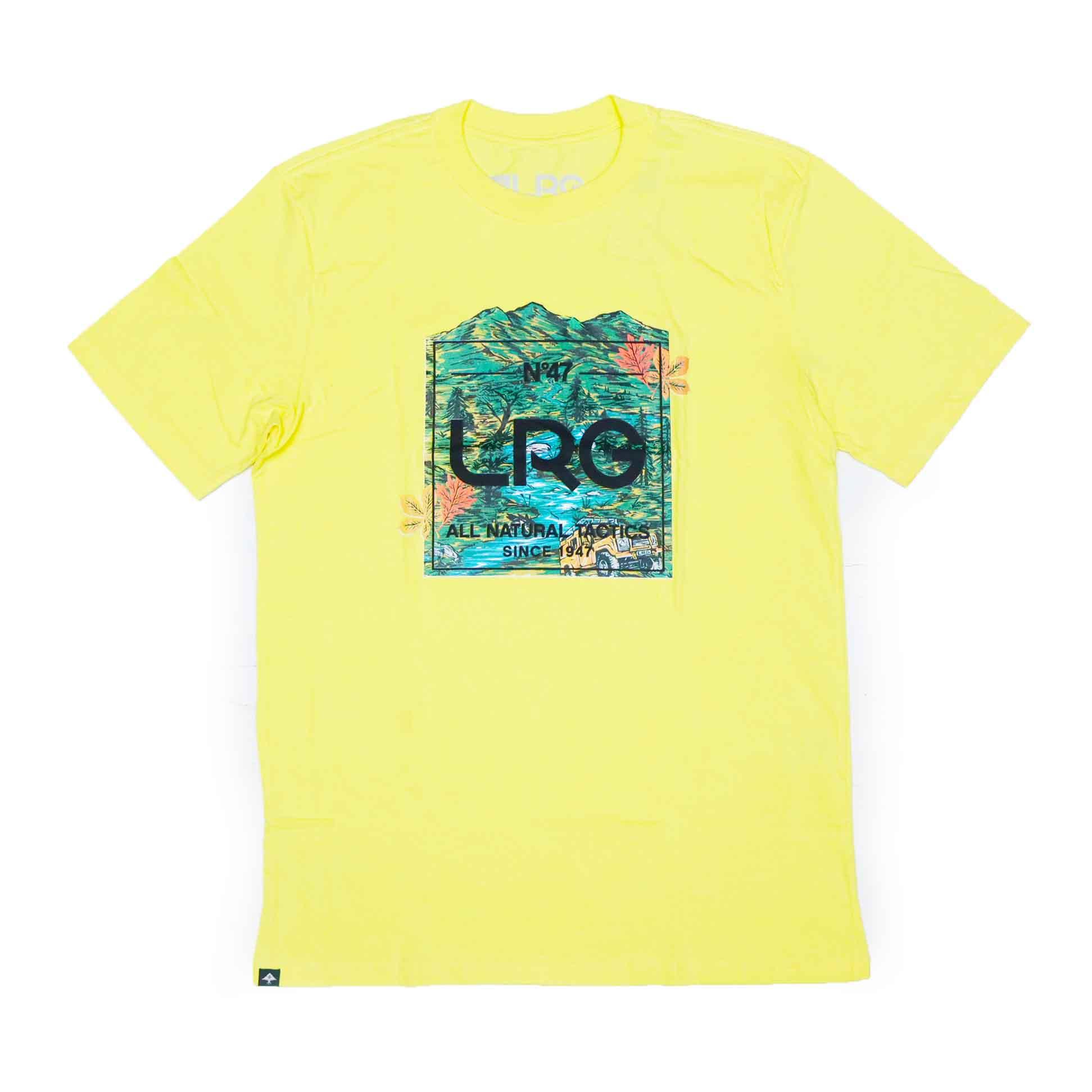 Camiseta LRG Wooded - Amarelo