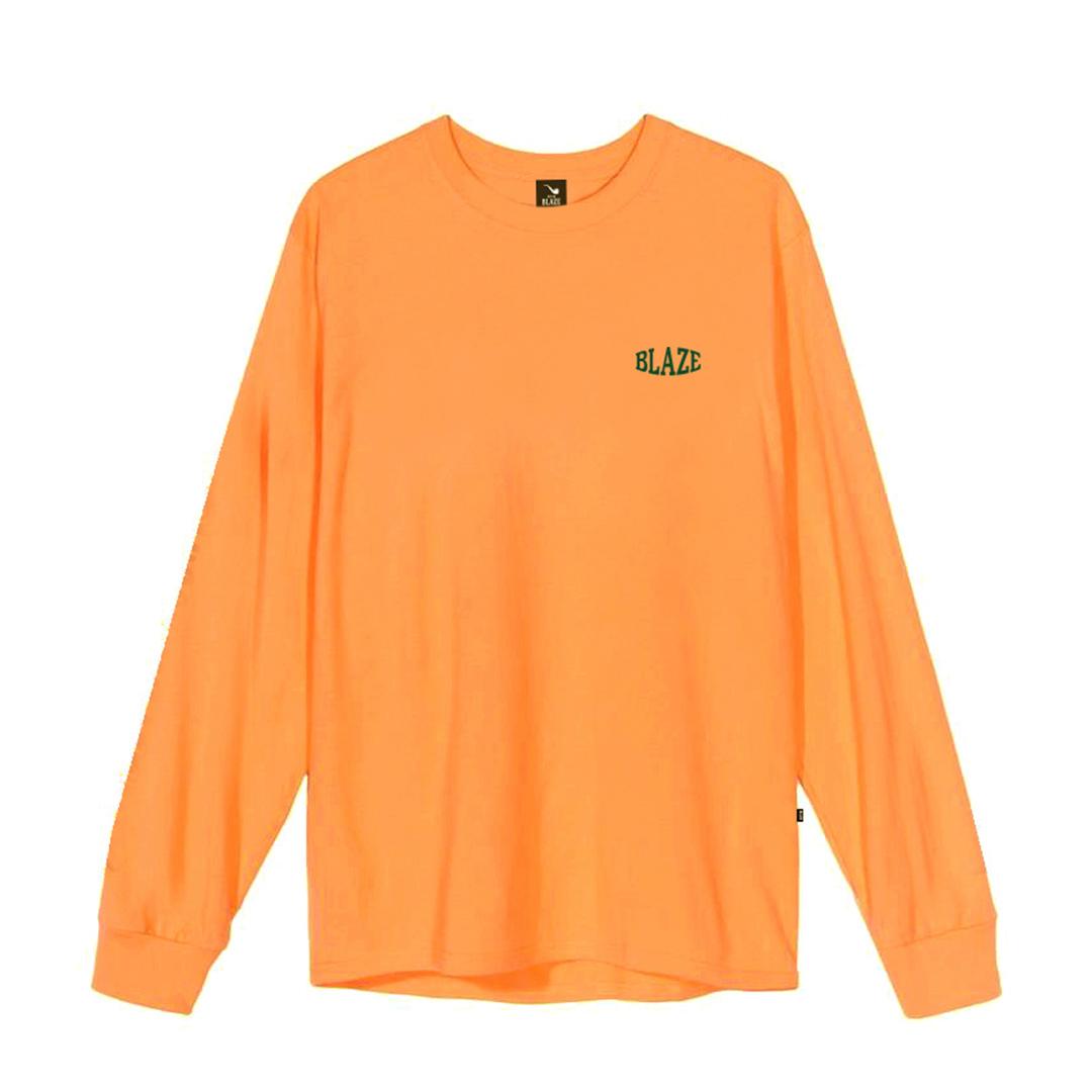 Camiseta Manga Longa Blaze Compact - Laranja