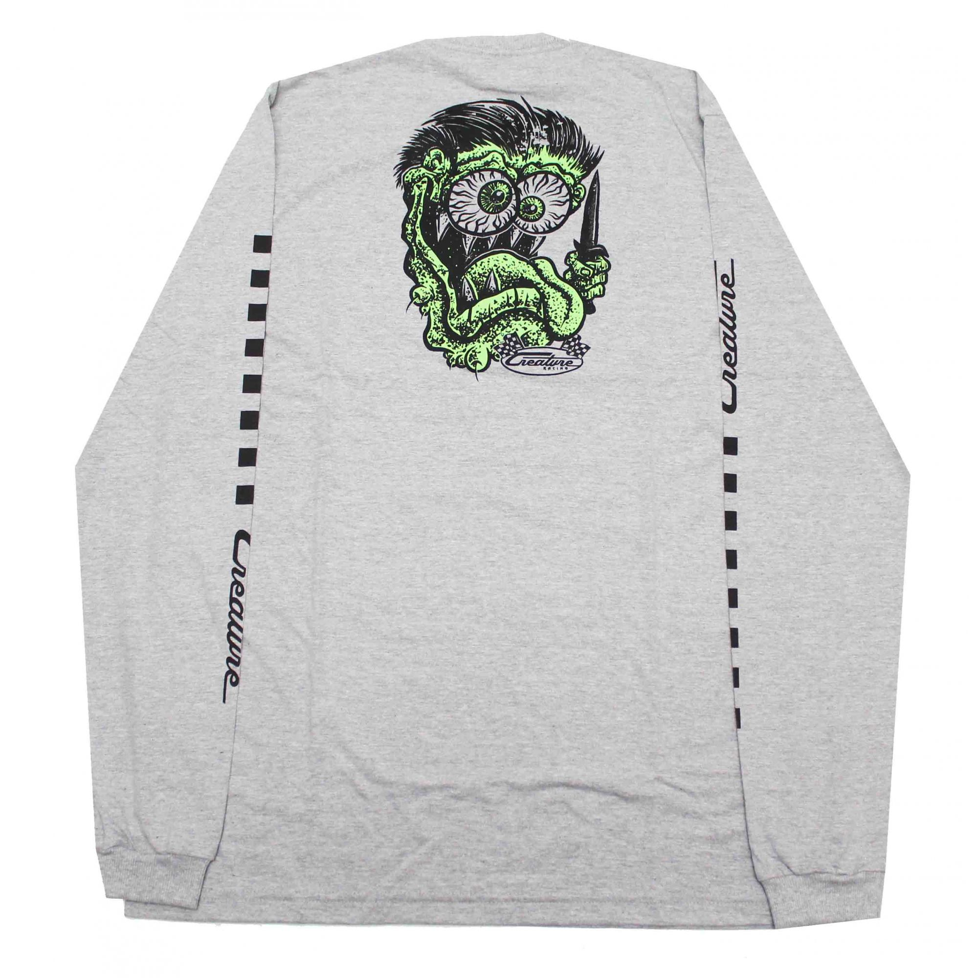 Camiseta Manga Longa Creature Grease Monkey Grey