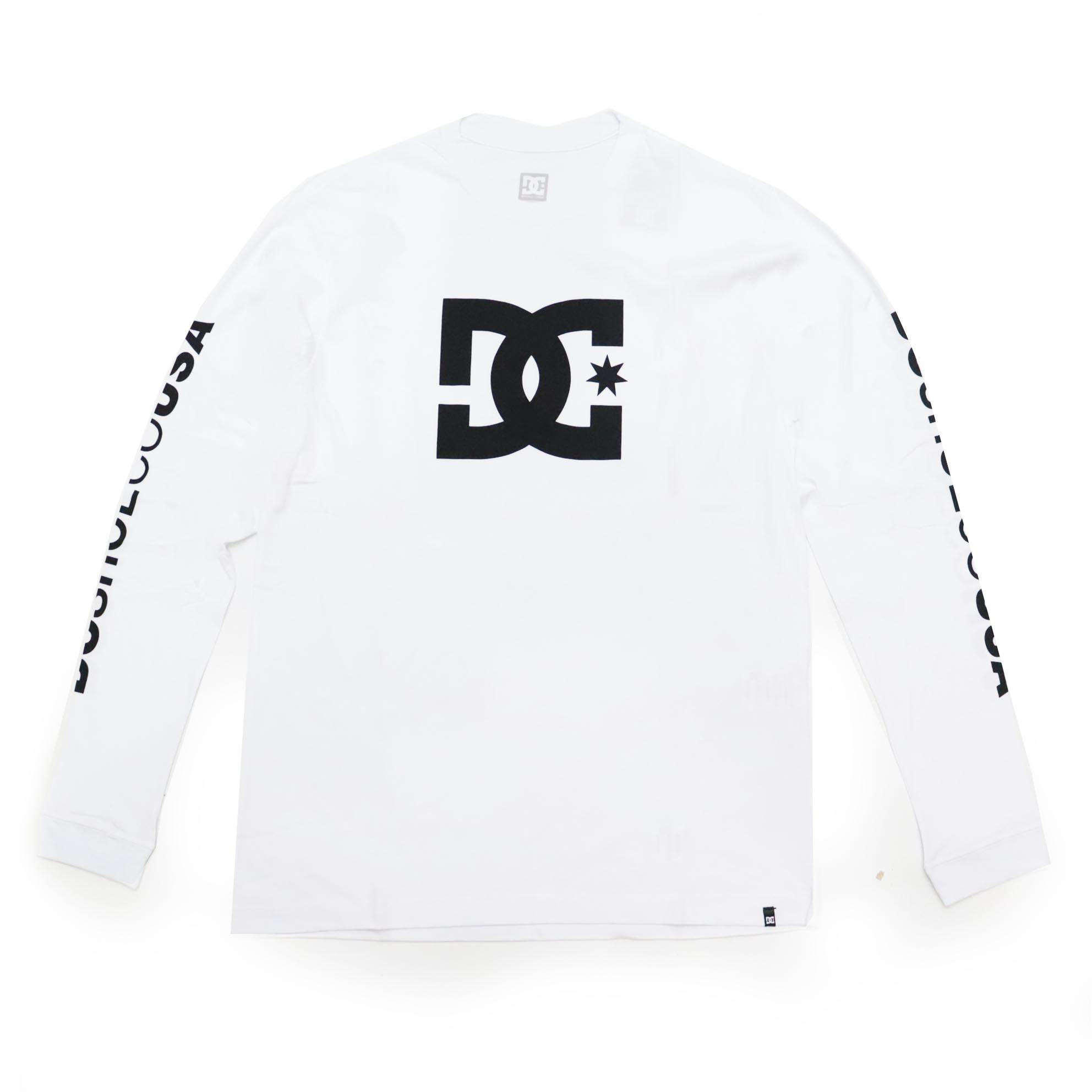 Camiseta Manga Longa DC Shoes Star - Branco