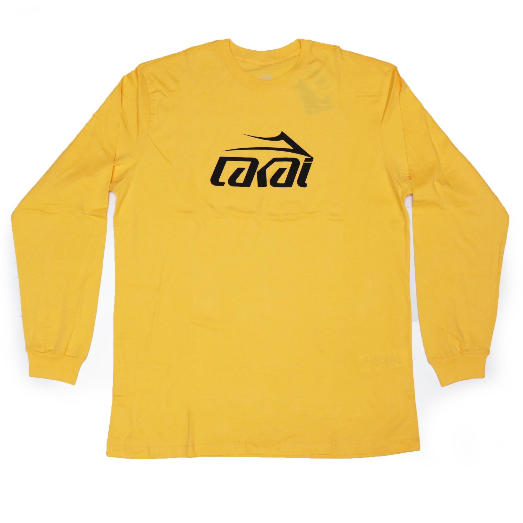 Camiseta Manga Longa Lakai Basic - Amarelo