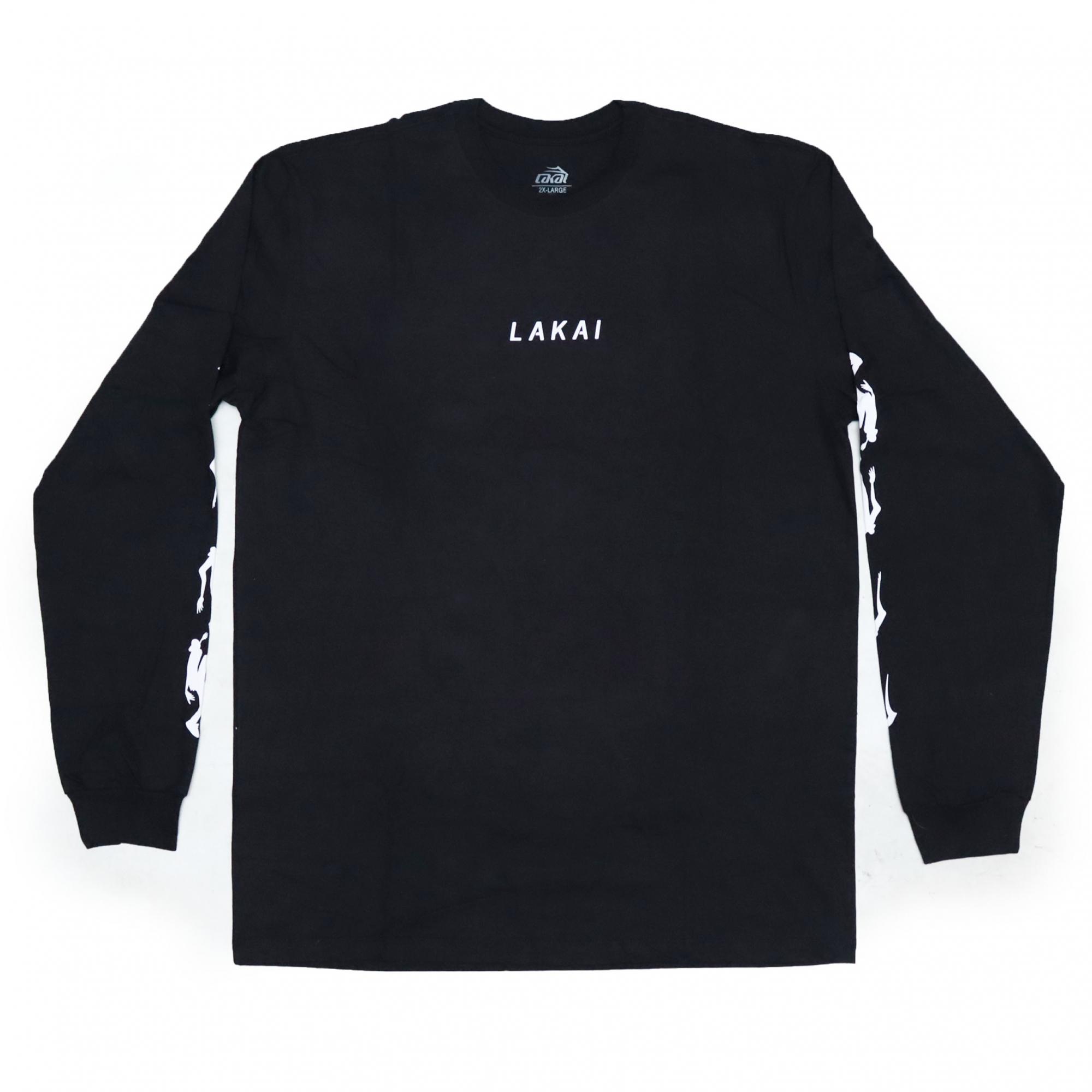 Camiseta Manga Longa Lakai Evolve - Preto