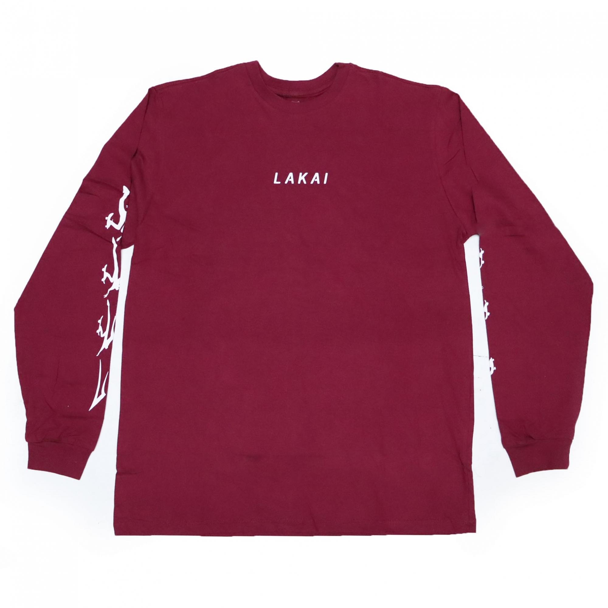 Camiseta Manga Longa Lakai Evolve - Vinho