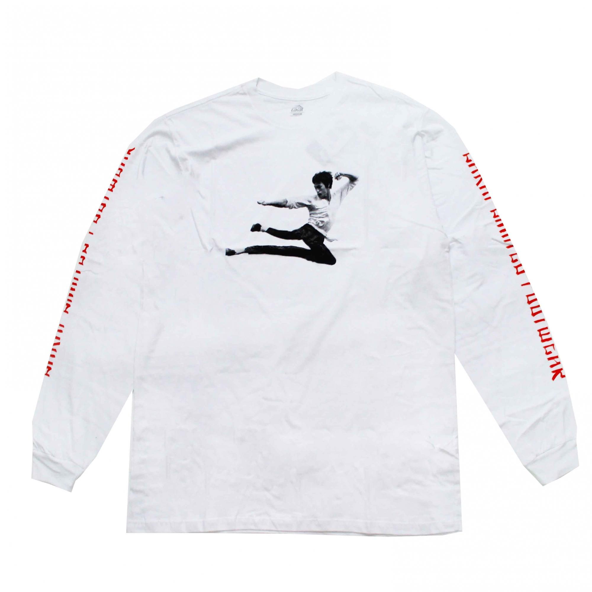 Camiseta Manga Longa Lakai Kung Flare - Branco
