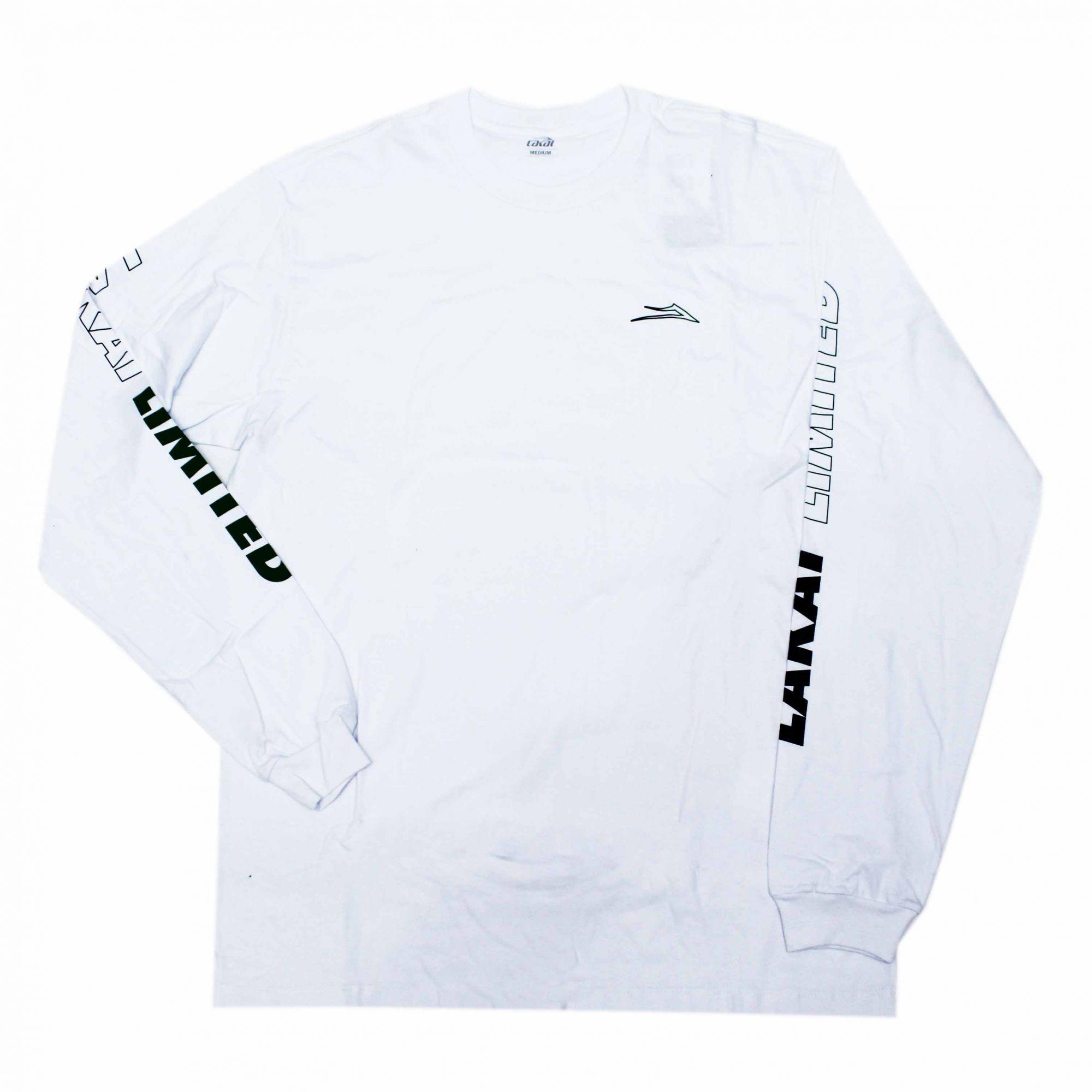 Camiseta Manga Longa Lakai Racing - Branco