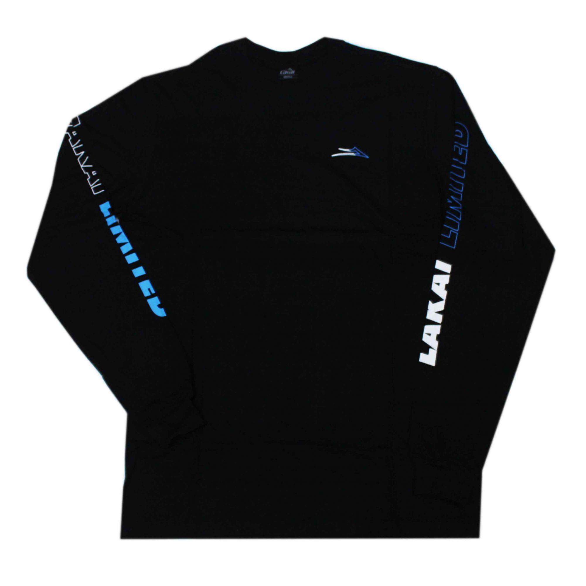 Camiseta Manga Longa Lakai Racing - Preto