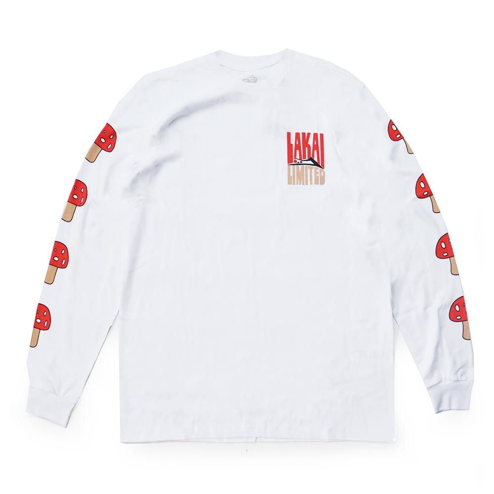 Camiseta Manga Longa Lakai Shroom - Branco