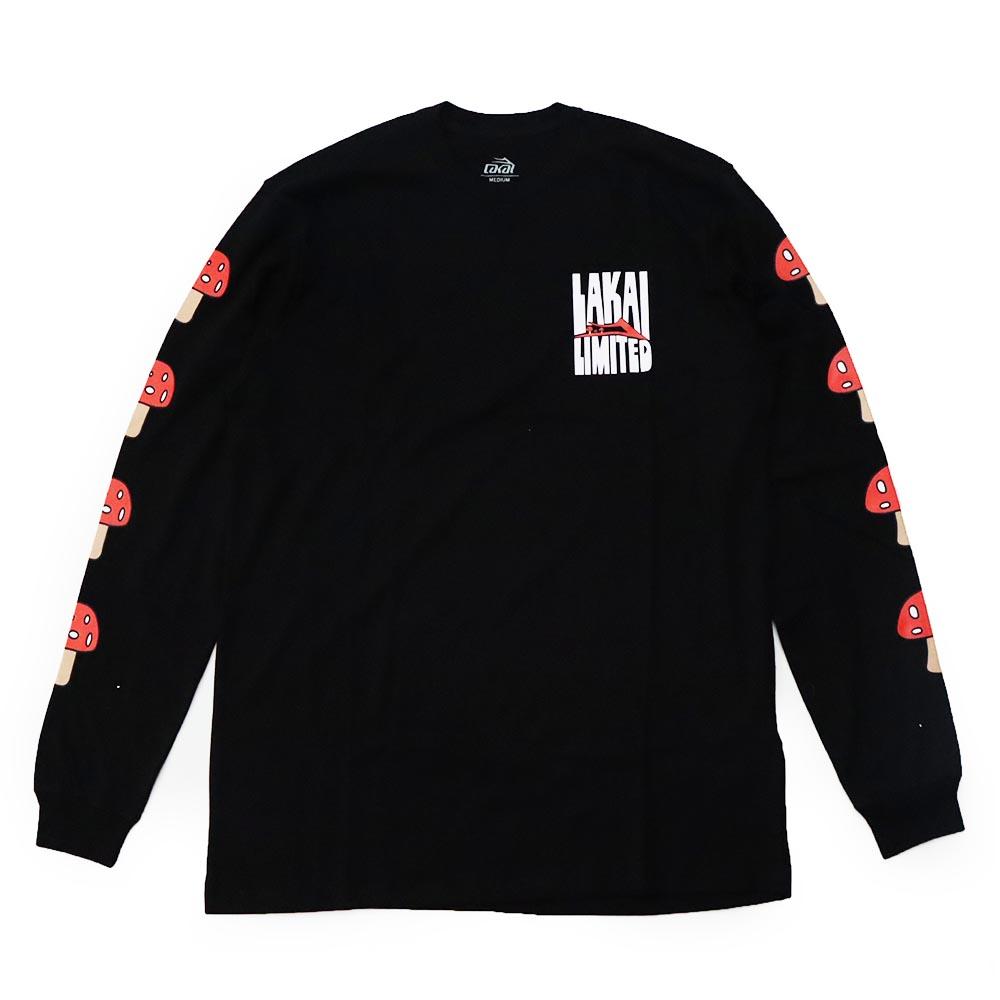 Camiseta Manga Longa Lakai Shroom - Preto