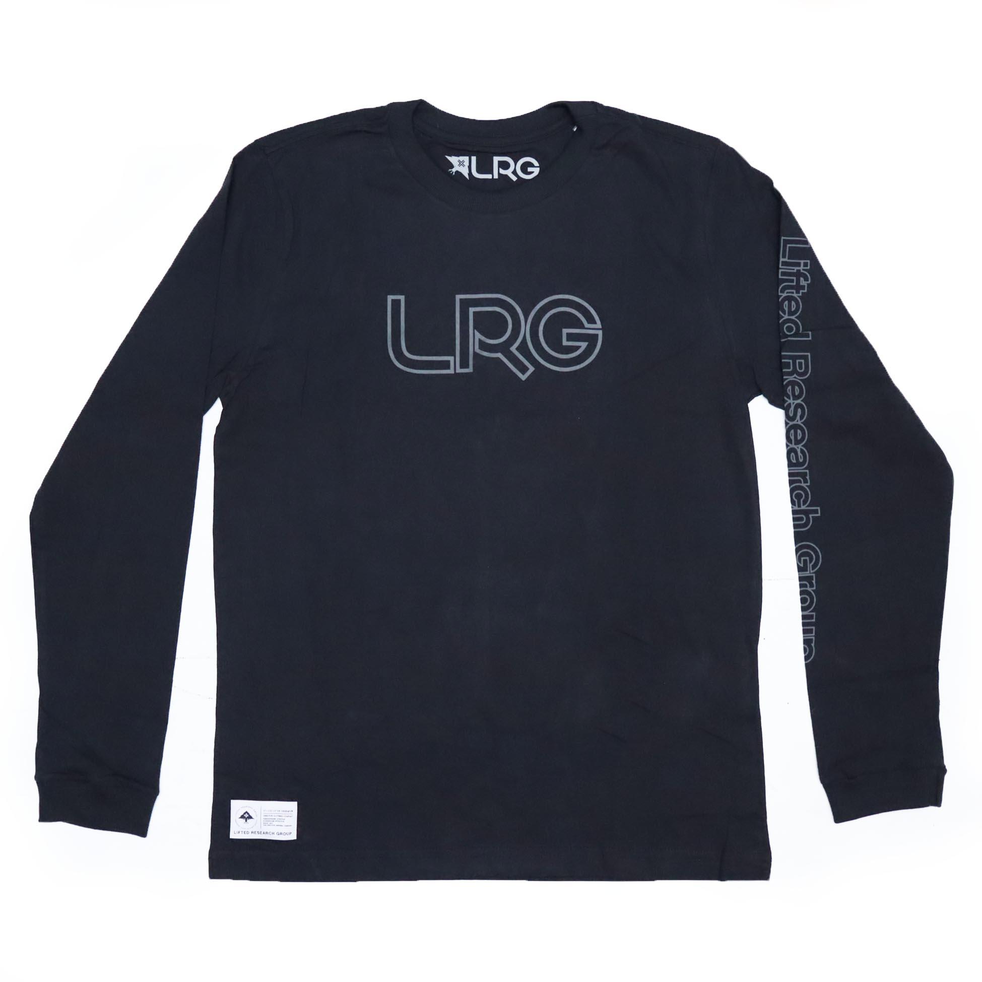 Camiseta Manga Longa LRG Brisson - Preto