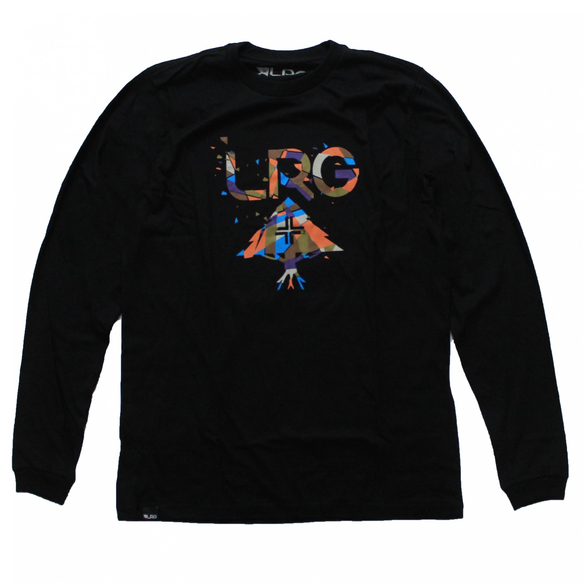 Camiseta Manga Longa LRG Decons - Preto