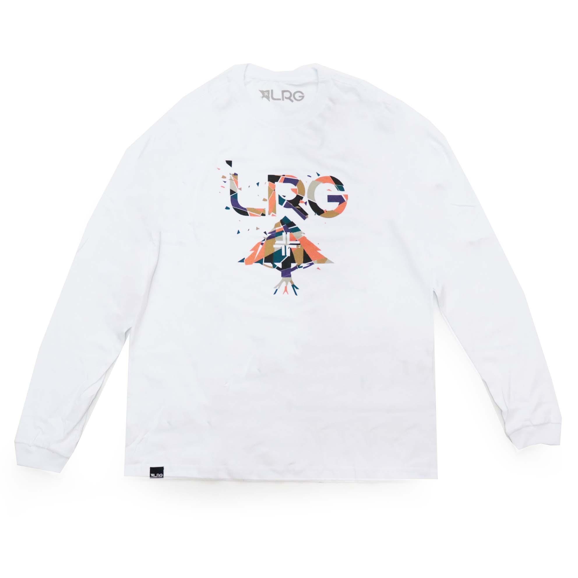 Camiseta Manga Longa LRG Deconstruct - Branco