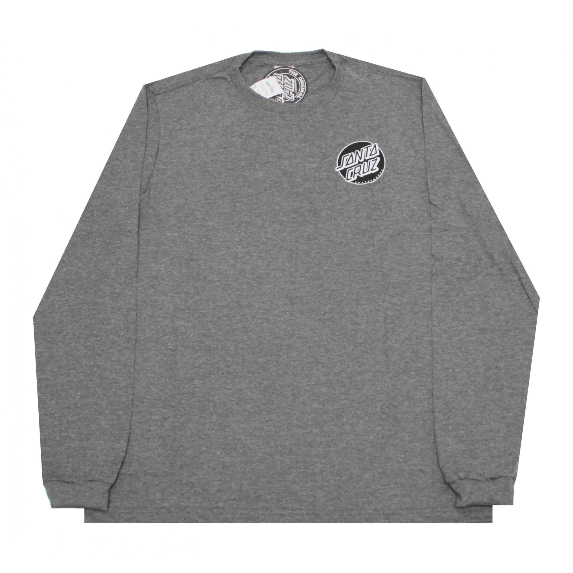 Camiseta Manga Longa Santa Cruz Conjurer Grey