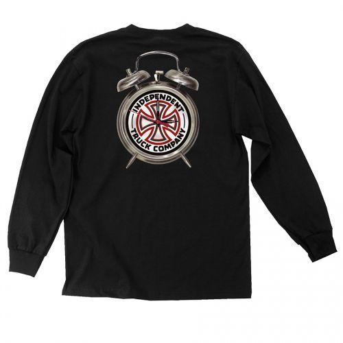 0a11f974d0 Camiseta Manga Longa Thrasher Magazine x Independent Time To Grind Black -  PRÉ VENDA