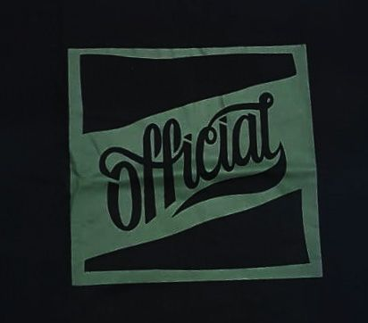 Camiseta Official Square Preta