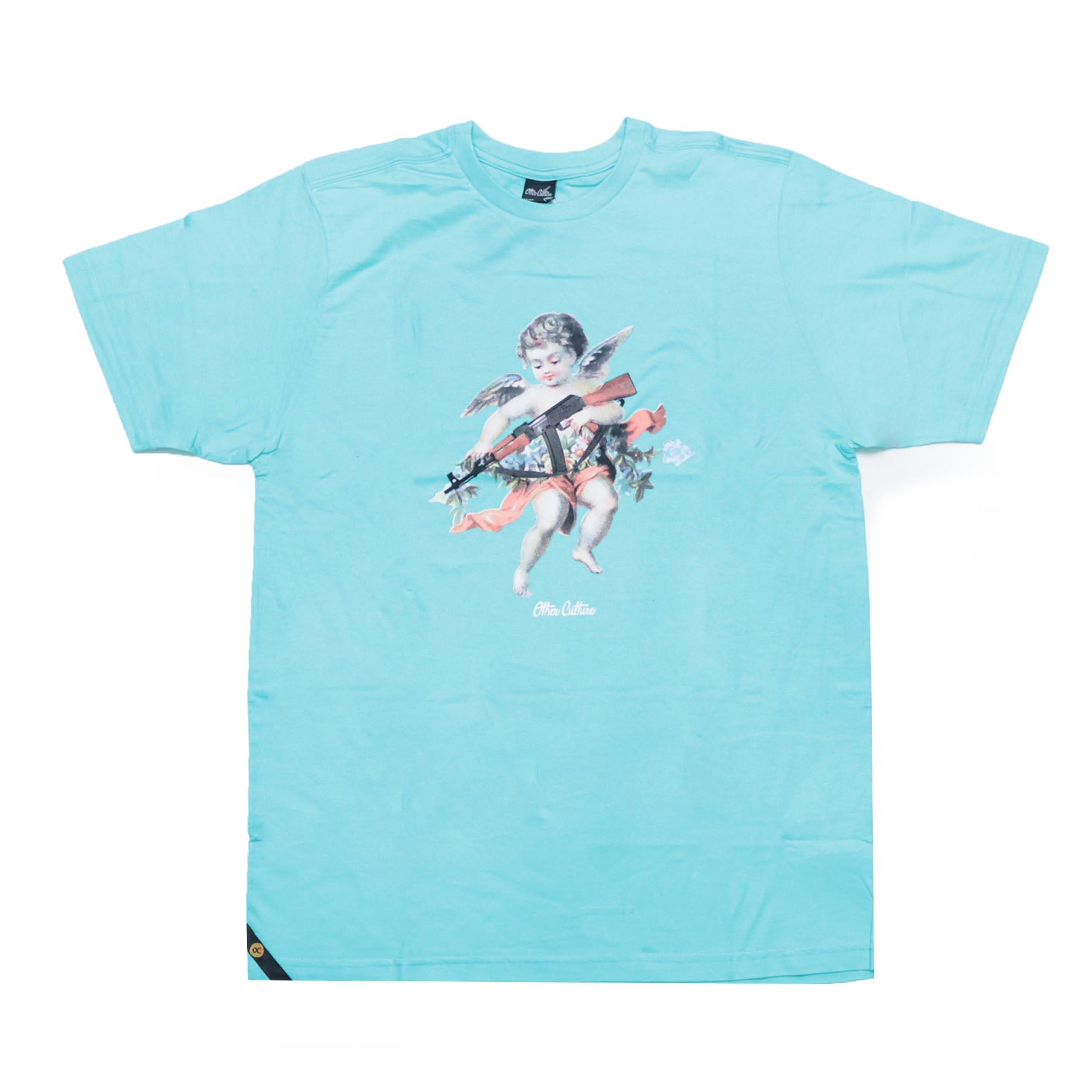 Camiseta Other Culture Angel - Verde Água