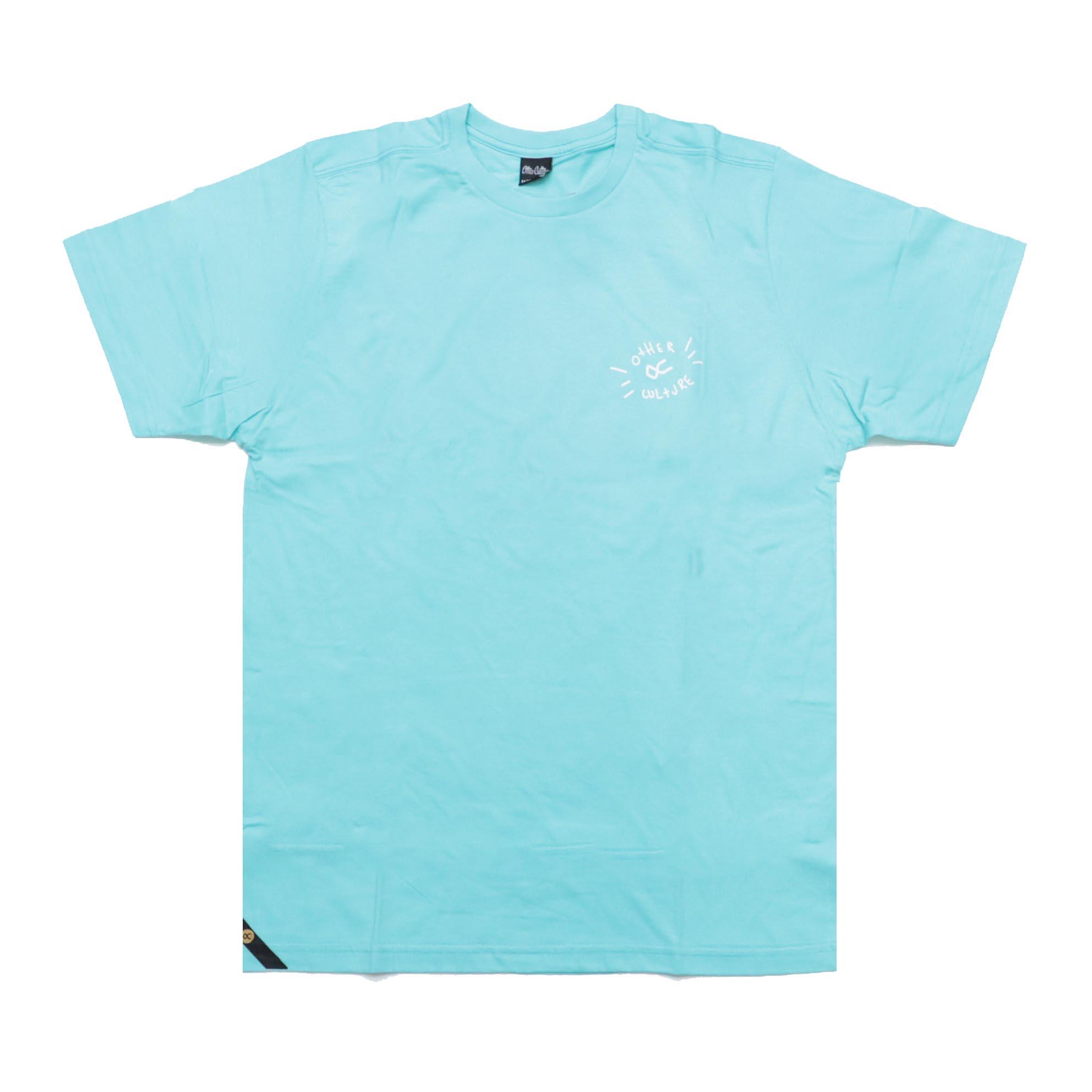 Camiseta Other Culture Cactus - Verde Água