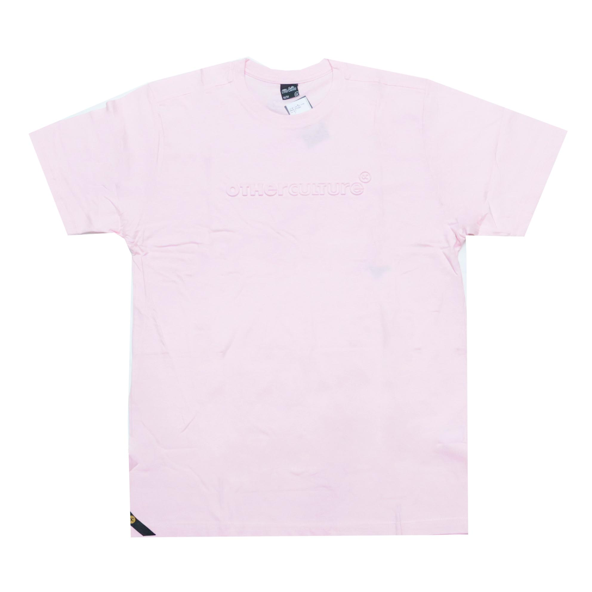Camiseta Other Culture High Relief - Rosa