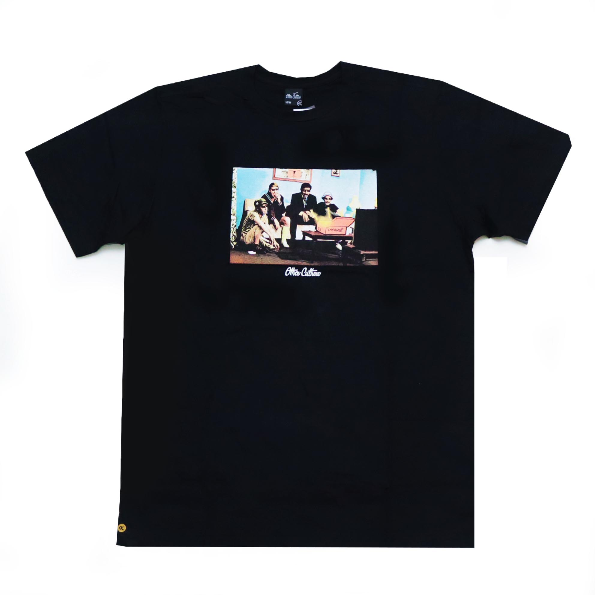 Camiseta Other Culture Sneakerheads Gang - Preto