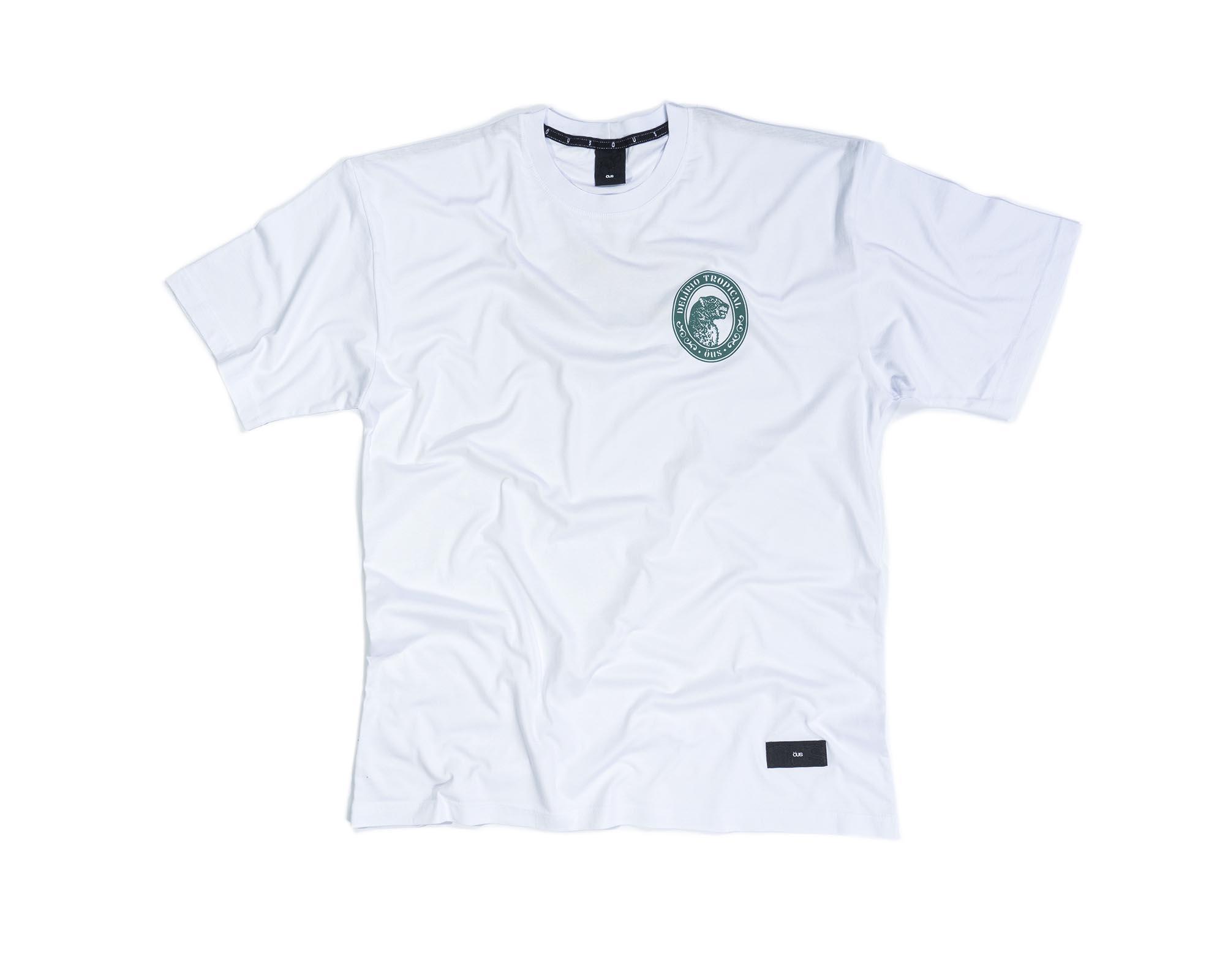 Camiseta ÖUS Amigo da Onça - Branco