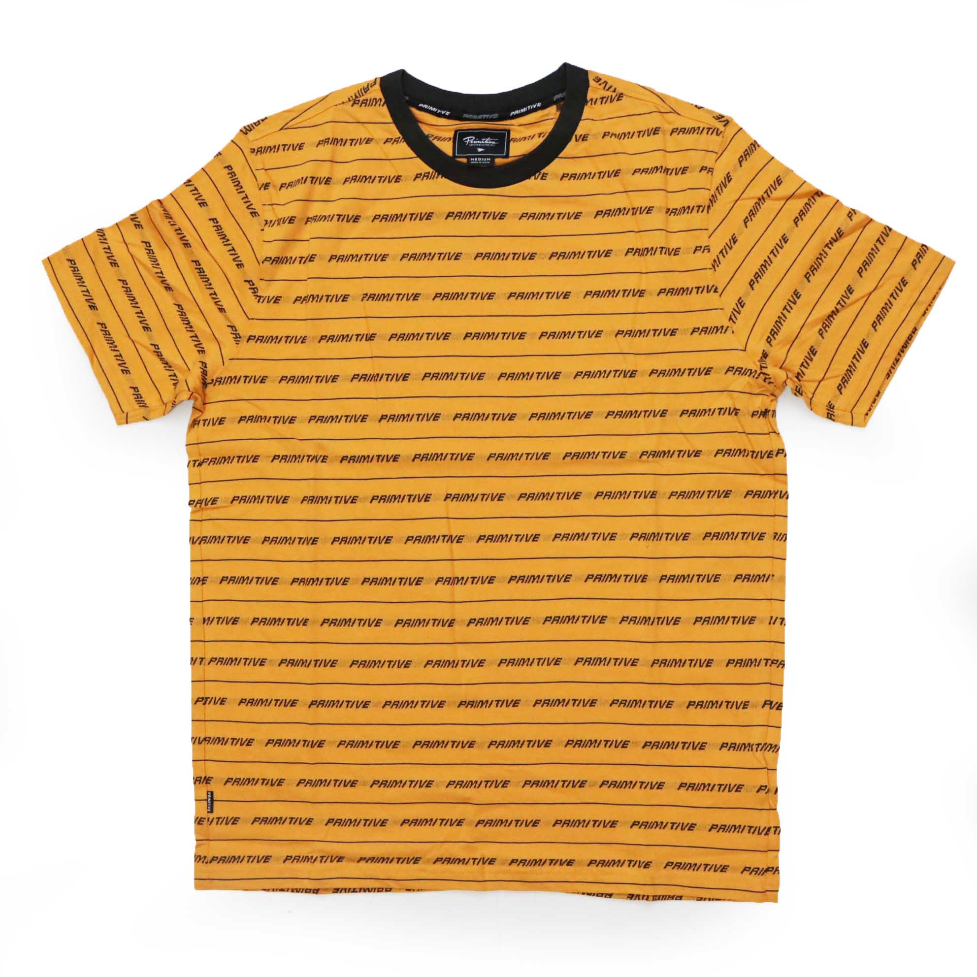 Camiseta Primitive Boyle - Amarelo (Importado)