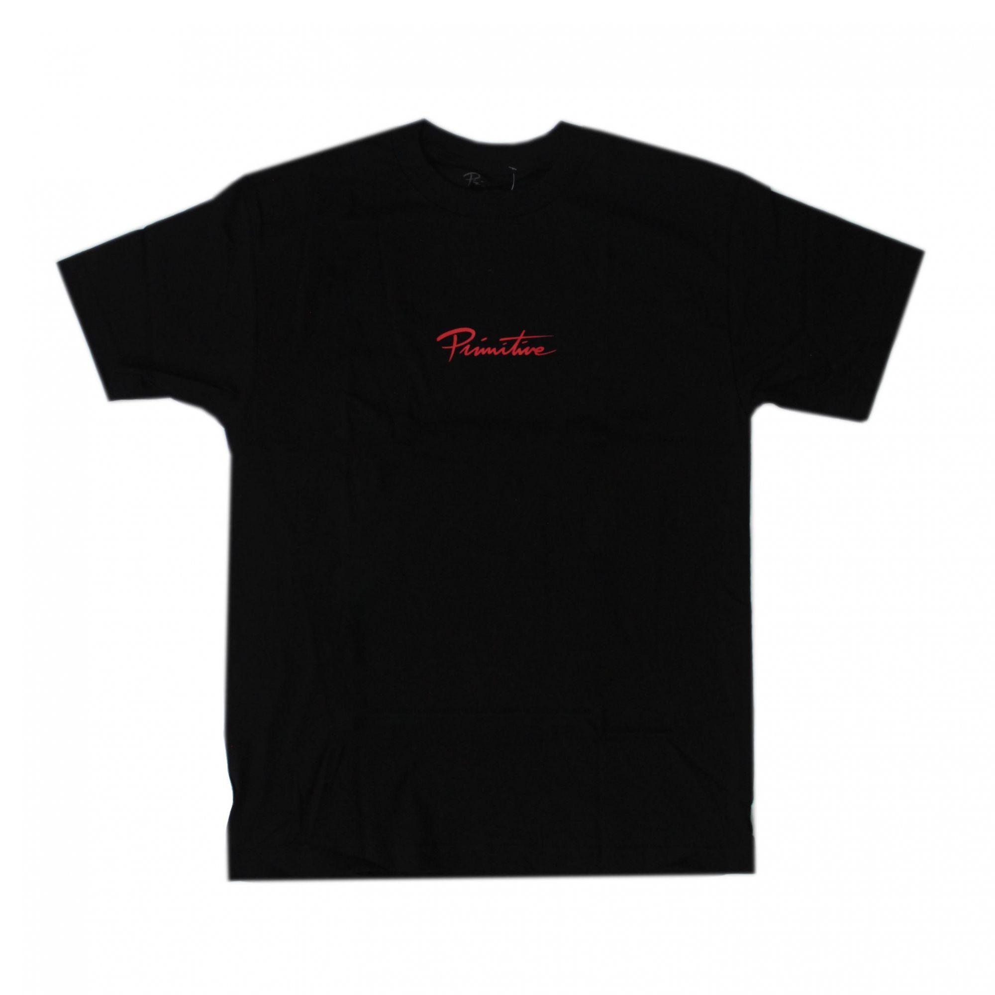 Camiseta Primitive Broken Tee - Preto (Importado)