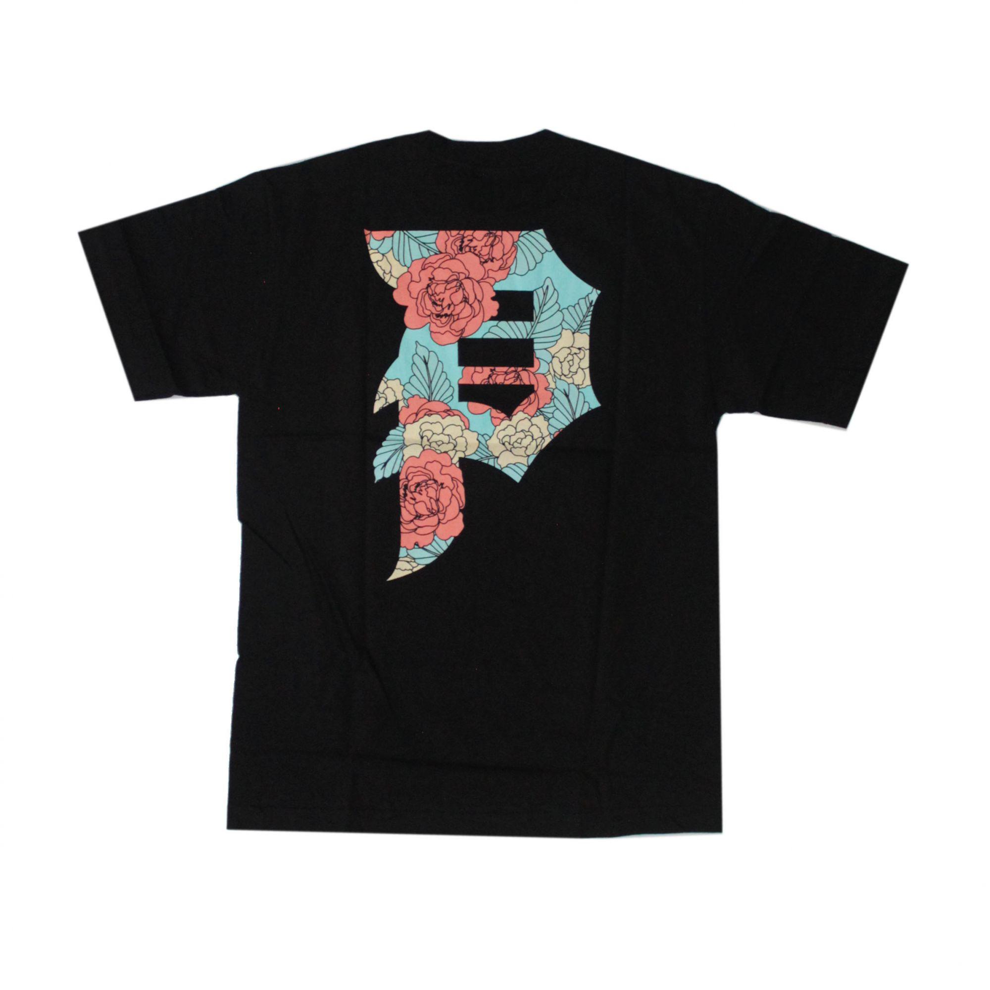 Camiseta Primitive Dirty P Casual Tee Preto (Importado)