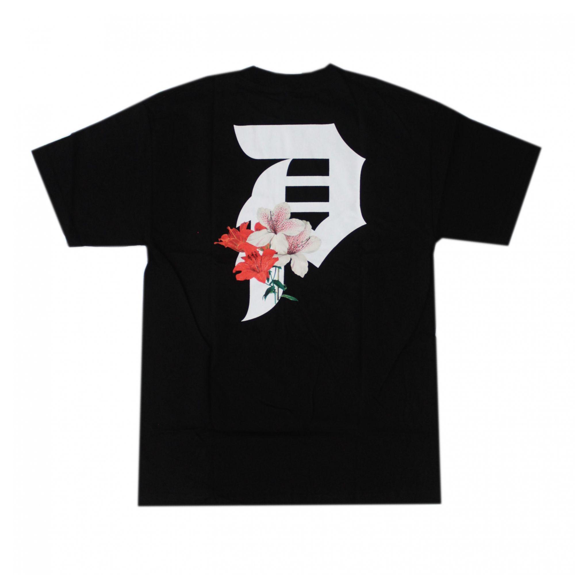Camiseta Primitive Dirty P Casual Tee Preto P Lily Tee - Preto (Importado)