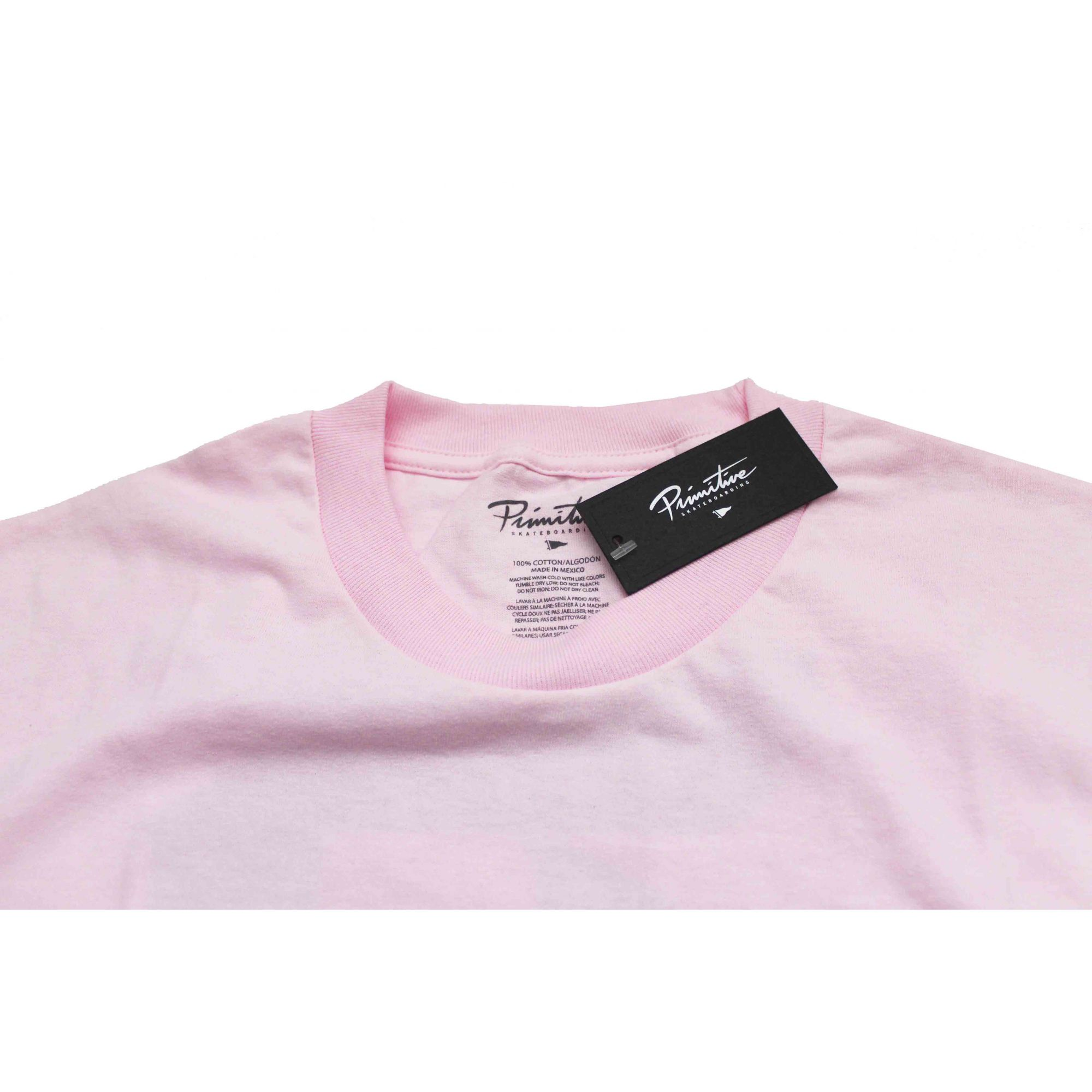 Camiseta Primitive Dirty P Lily Tee Pink