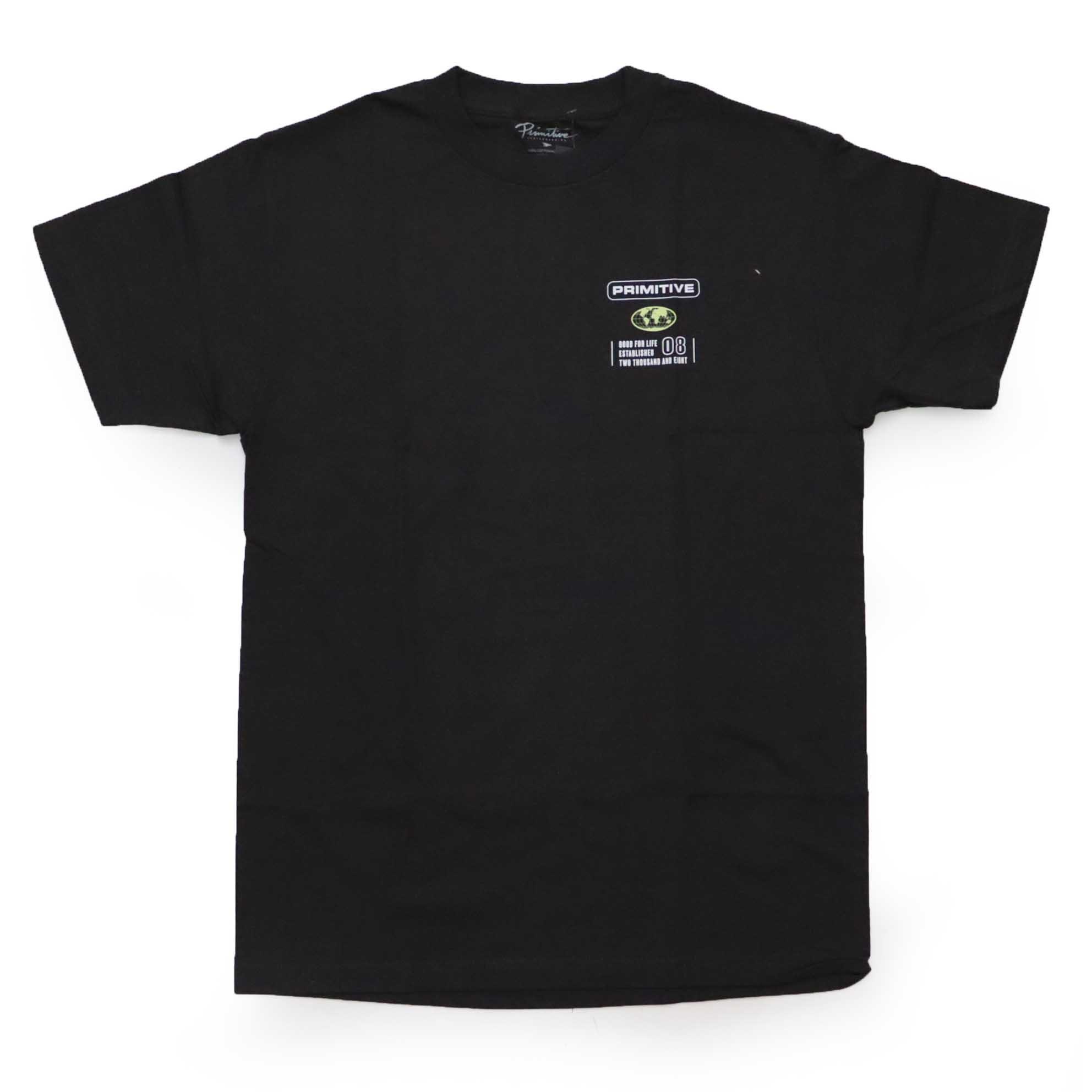 Camiseta Primitive Horizon - Preto (Importado)