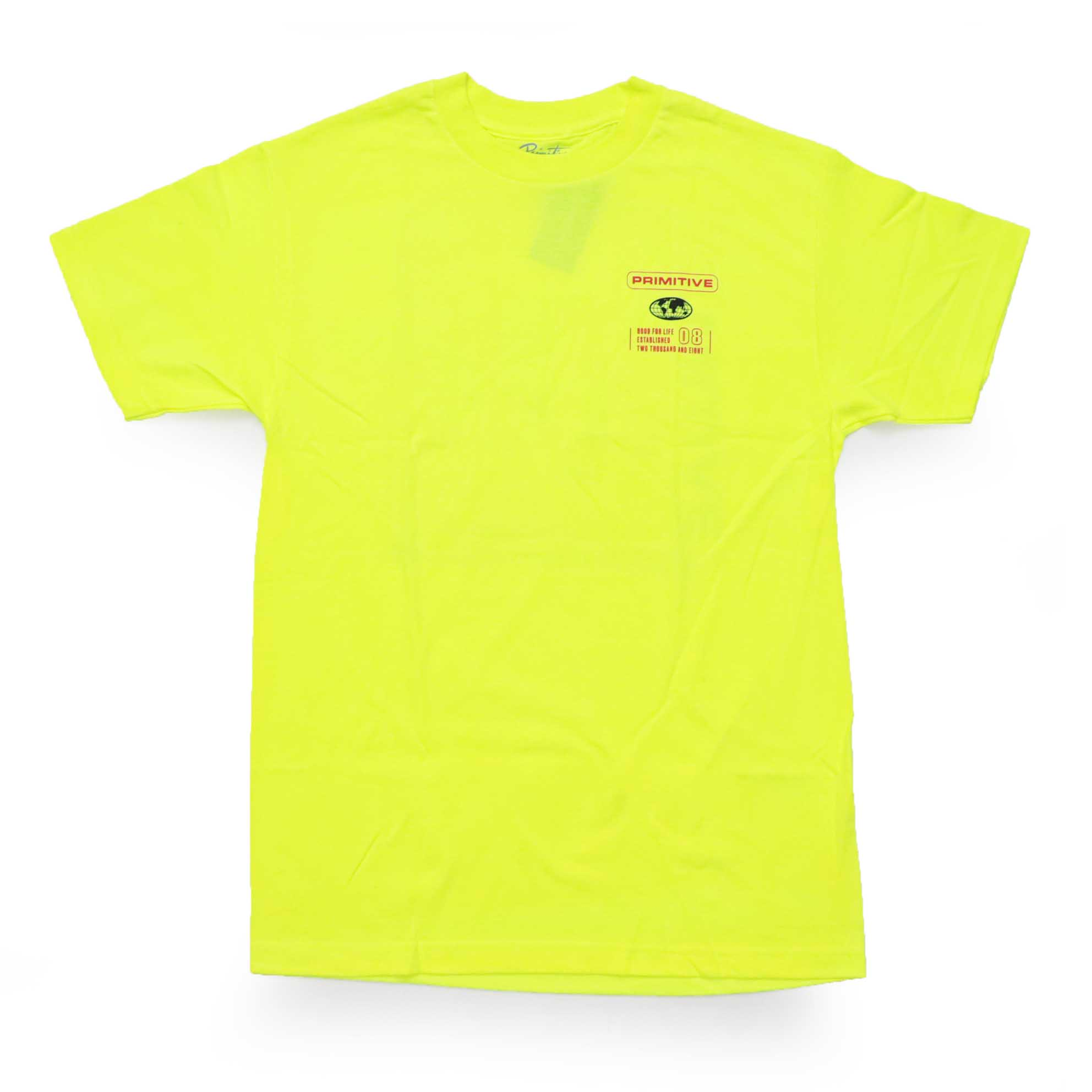 Camiseta Primitive Horizon - Verde Neon (Importado)
