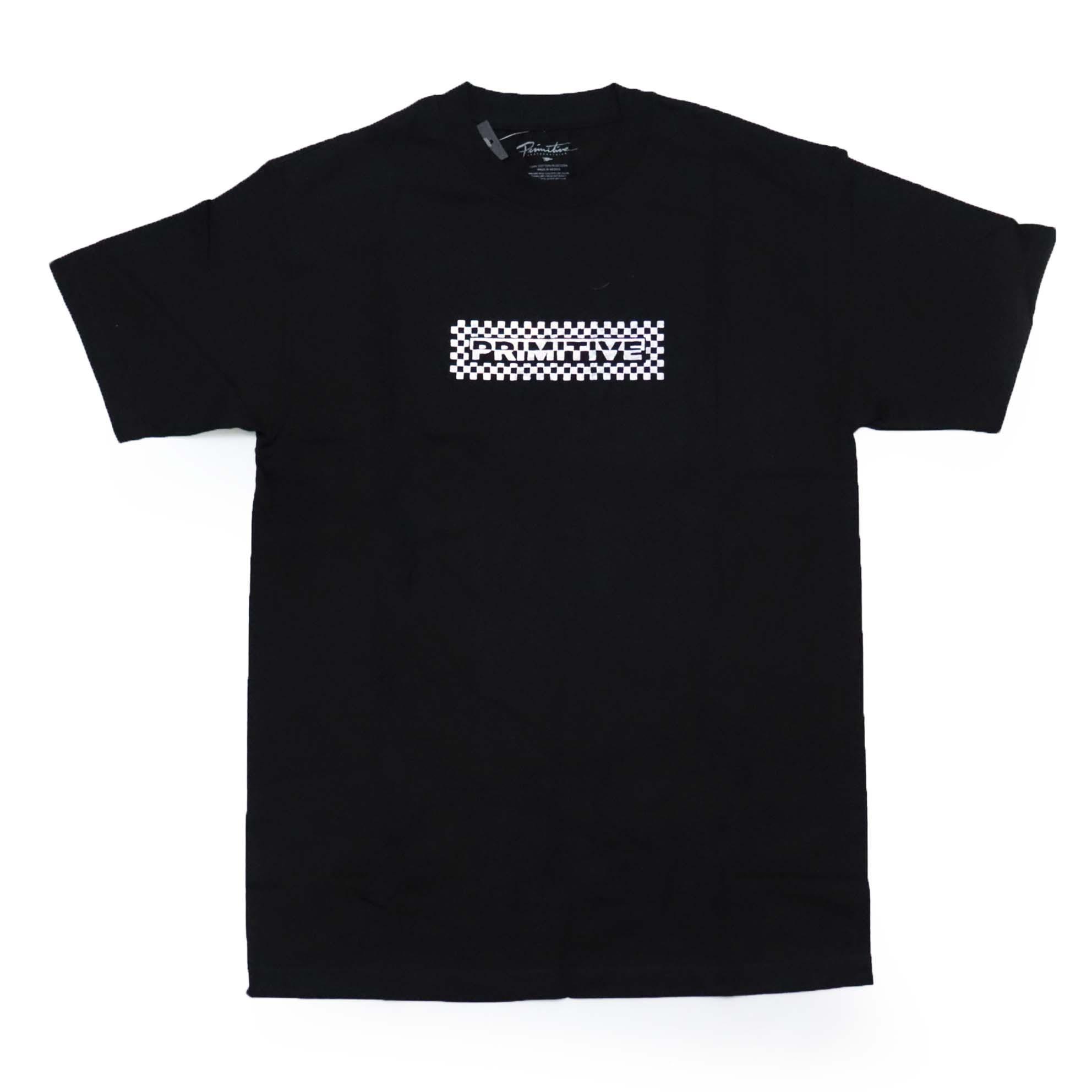 Camiseta Primitive Line Hologram - Preto (Estampa Holográfica/Importado)