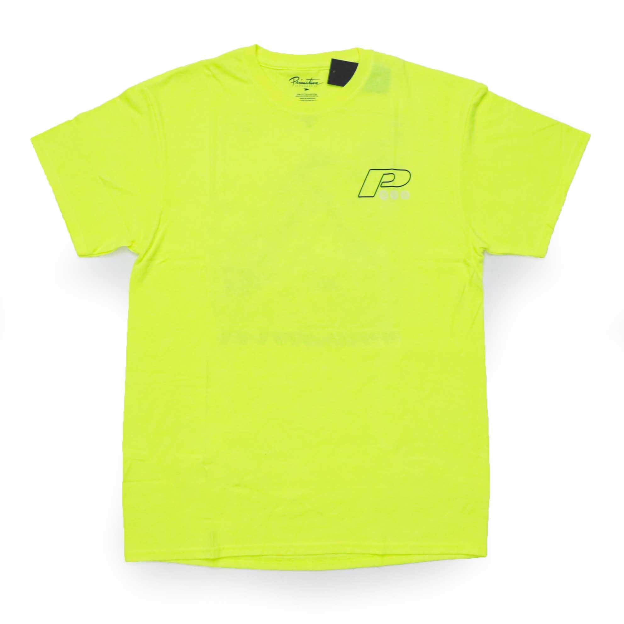 Camiseta Primitive Summit - Verde Neon (Importado)